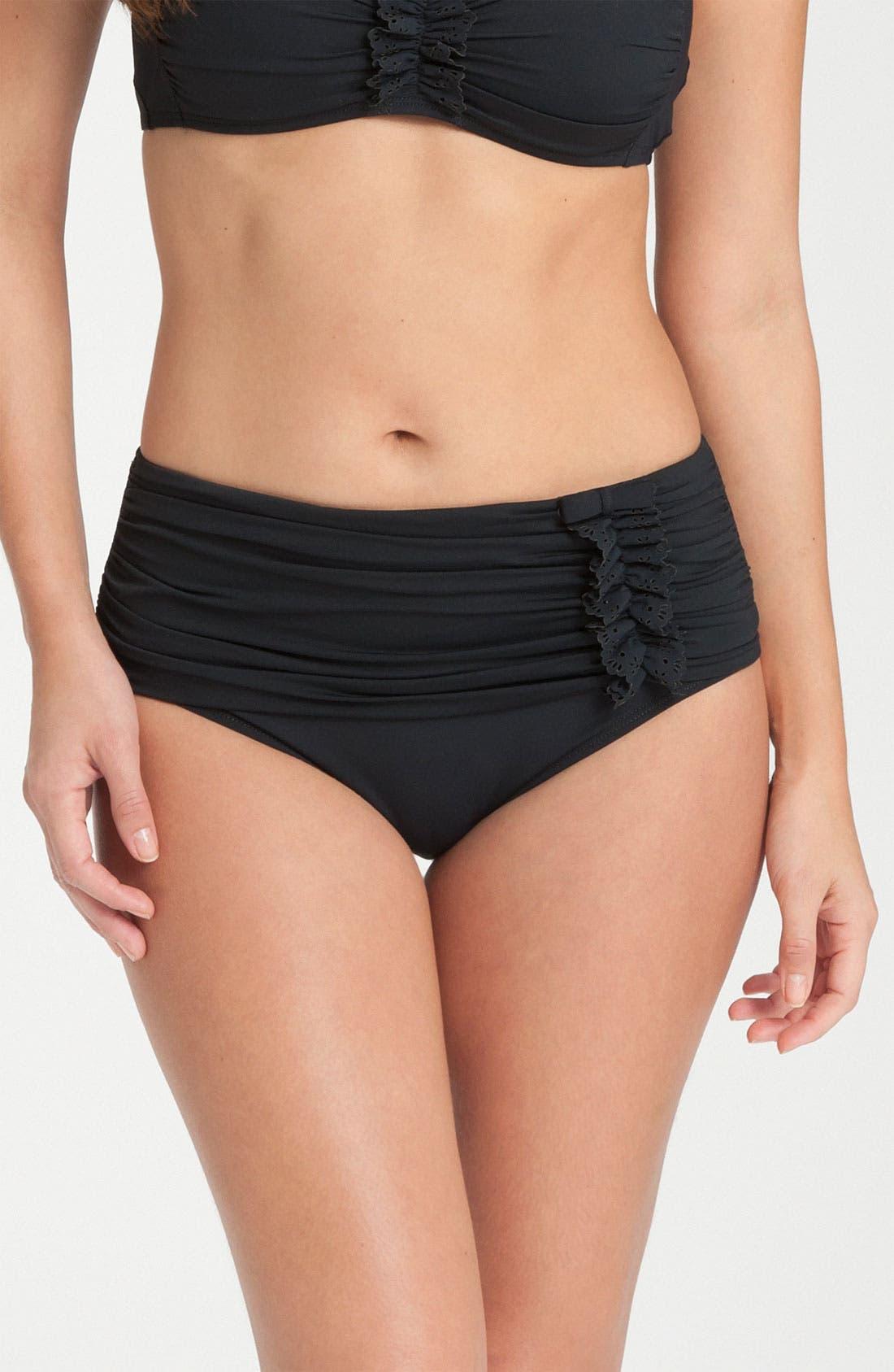 Main Image - BLEU Rod Beattie 'Retro' Ruffle Bikini Bottoms