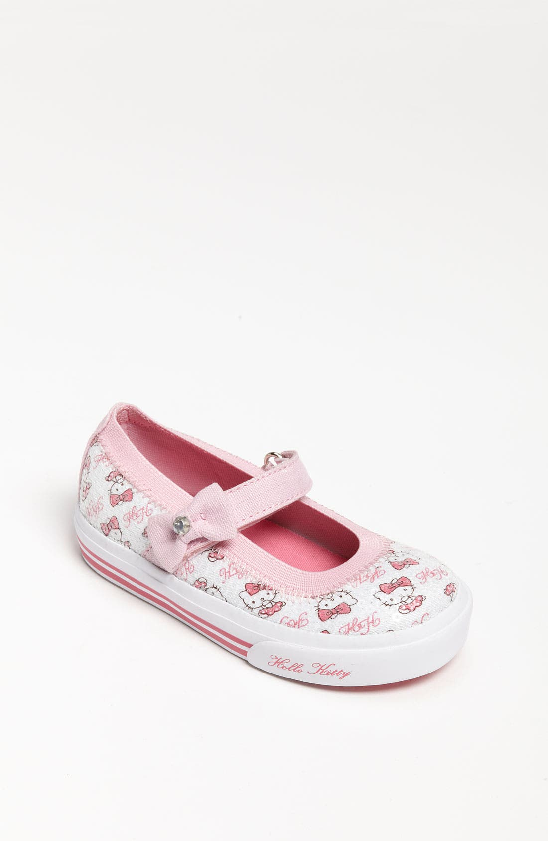 Alternate Image 1 Selected - Keds® 'Hello Kitty® -Charmmy' Mary Jane (Baby, Walker & Toddler)