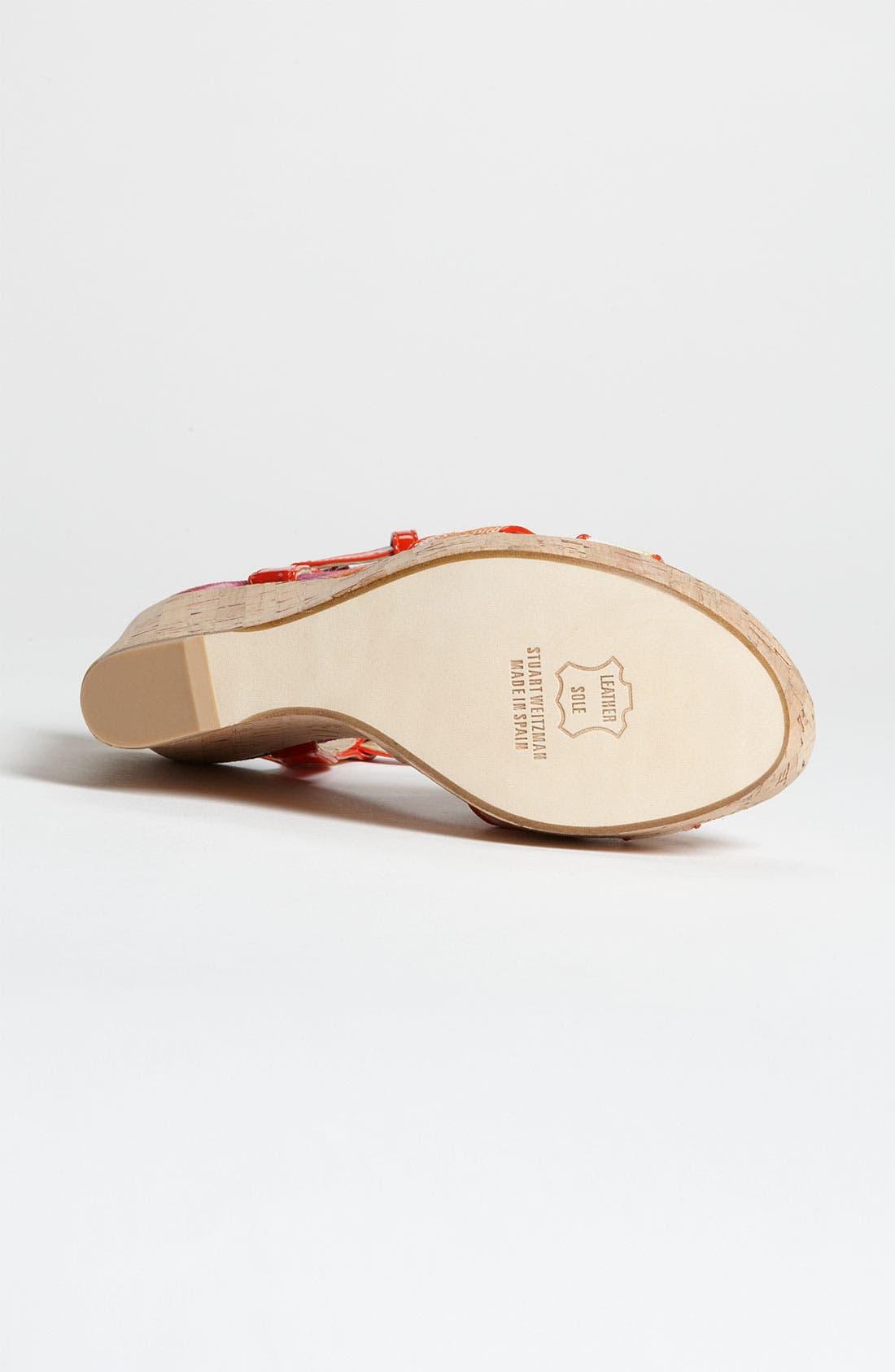 Alternate Image 4  - Stuart Weitzman 'Midair' Wedge Sandal