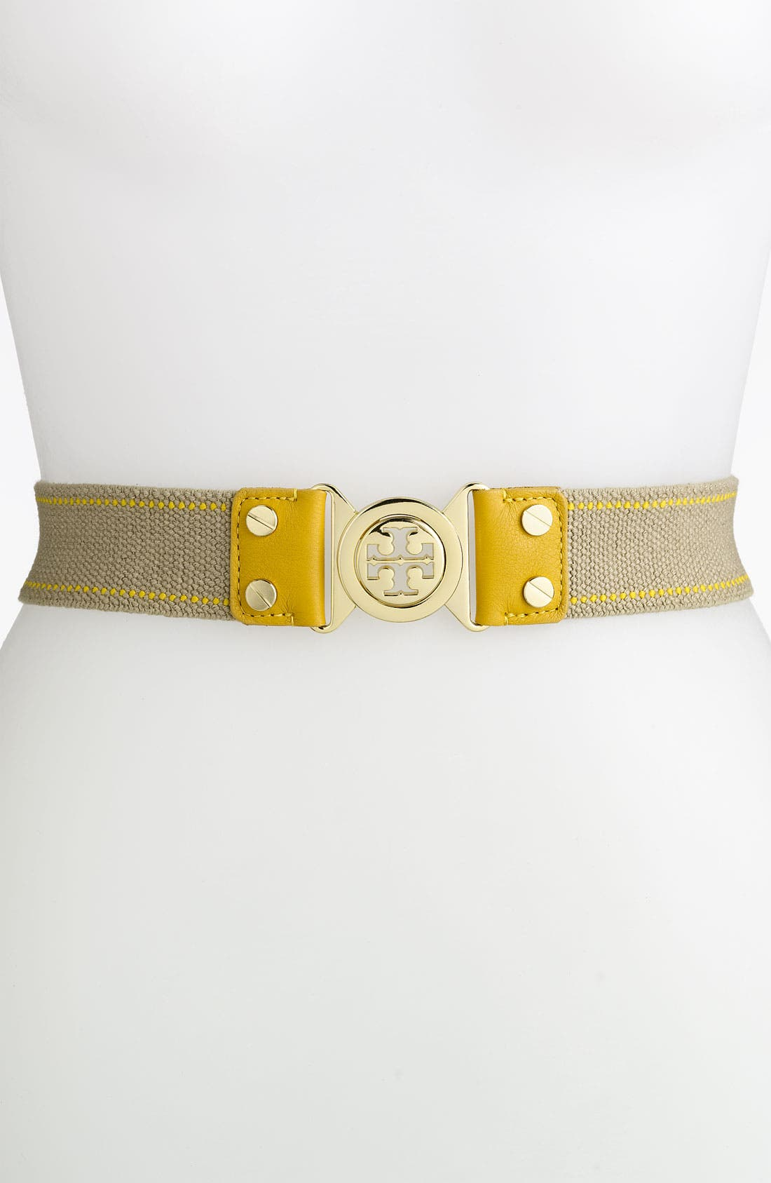 Alternate Image 1 Selected - Tory Burch 'Stretch Interlocking' Belt