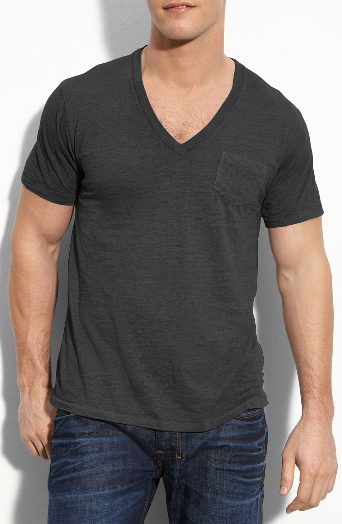 Main Image - Alternative Burnout V-Neck T-Shirt