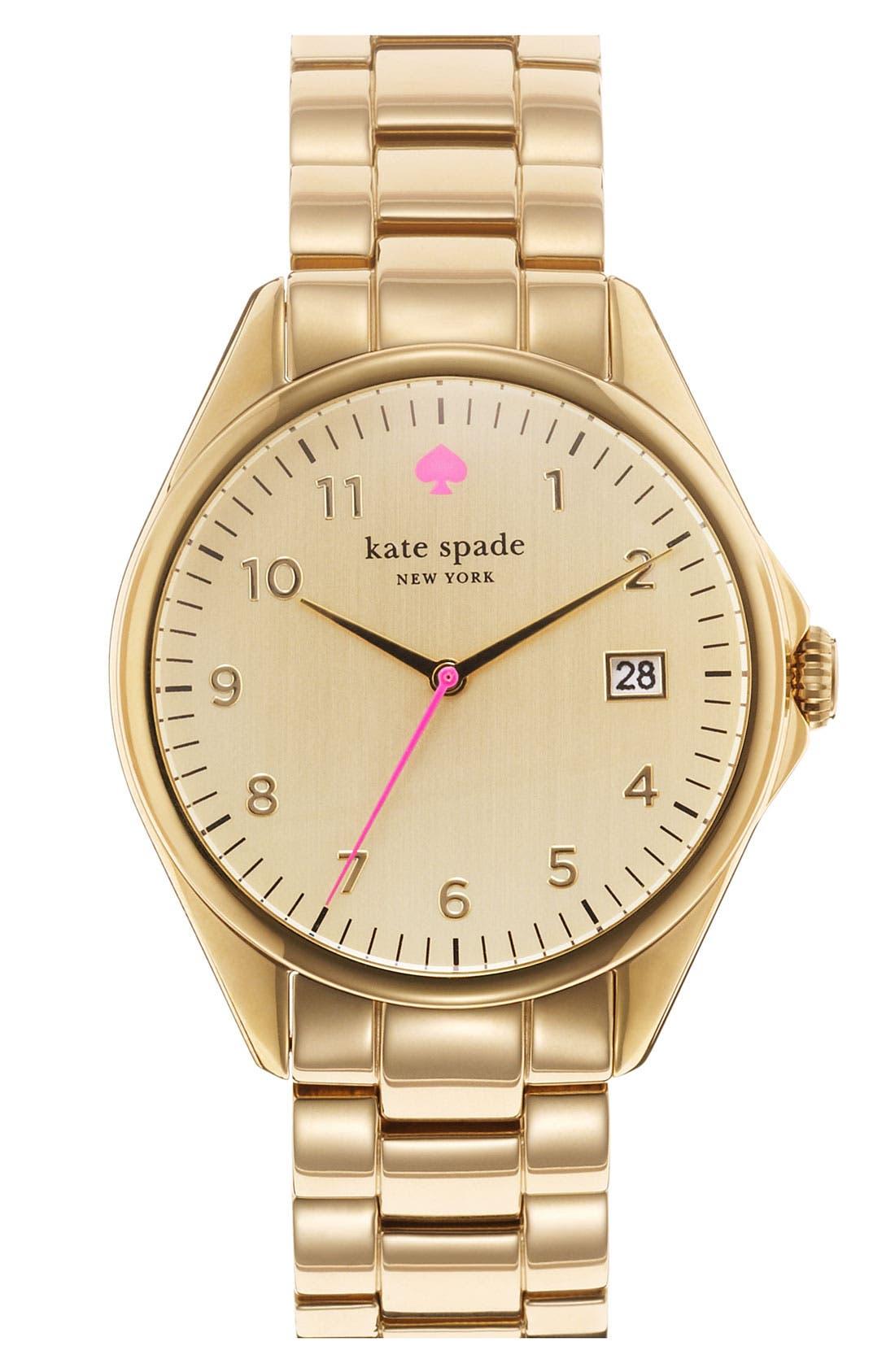 'seaport grand' bracelet watch, 38mm,                         Main,                         color, Gold