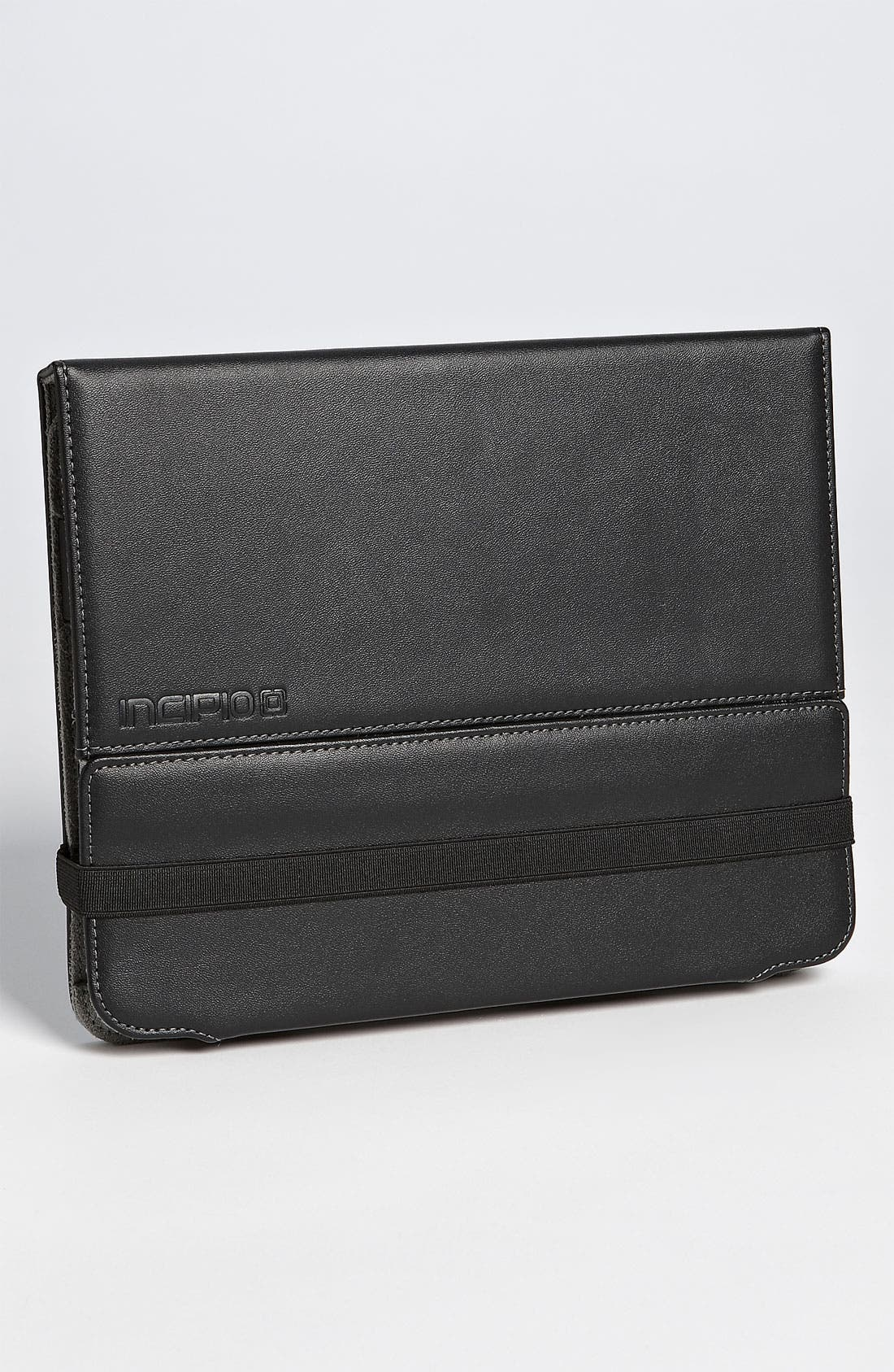 'Executive Premium Kickstand' iPad 2 Case,                         Main,                         color, Black