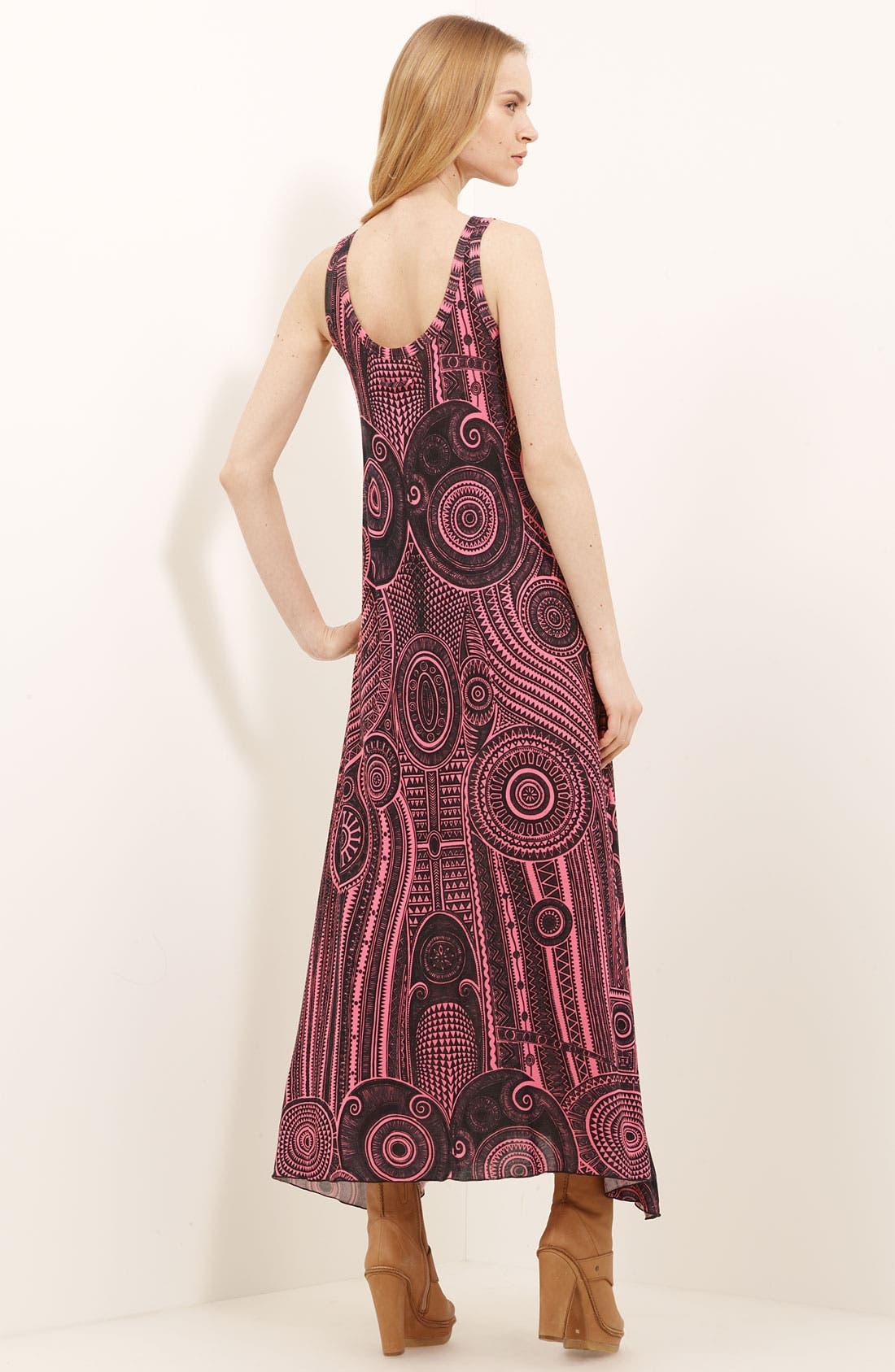 Alternate Image 2  - Jean Paul Gaultier Fuzzi Print Jersey Maxi Dress