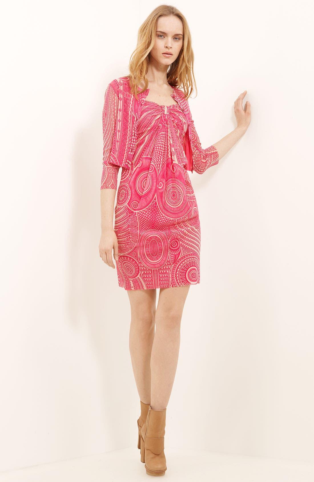 Alternate Image 4  - Jean Paul Gaultier Fuzzi Tulle Knit Dress