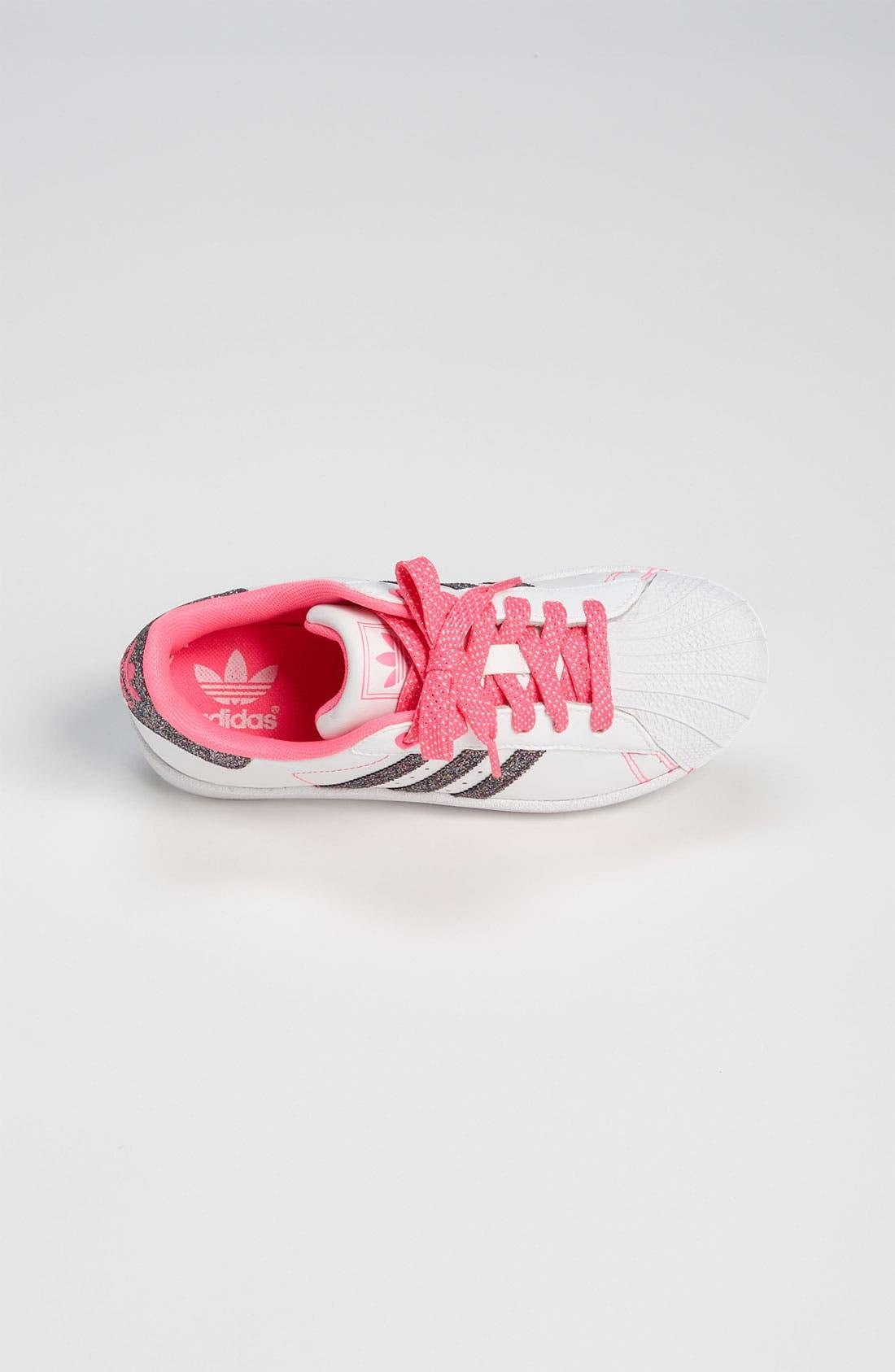 Alternate Image 3  - adidas 'Sparkle Superstar 2' Sneaker (Toddler & Little Kid)