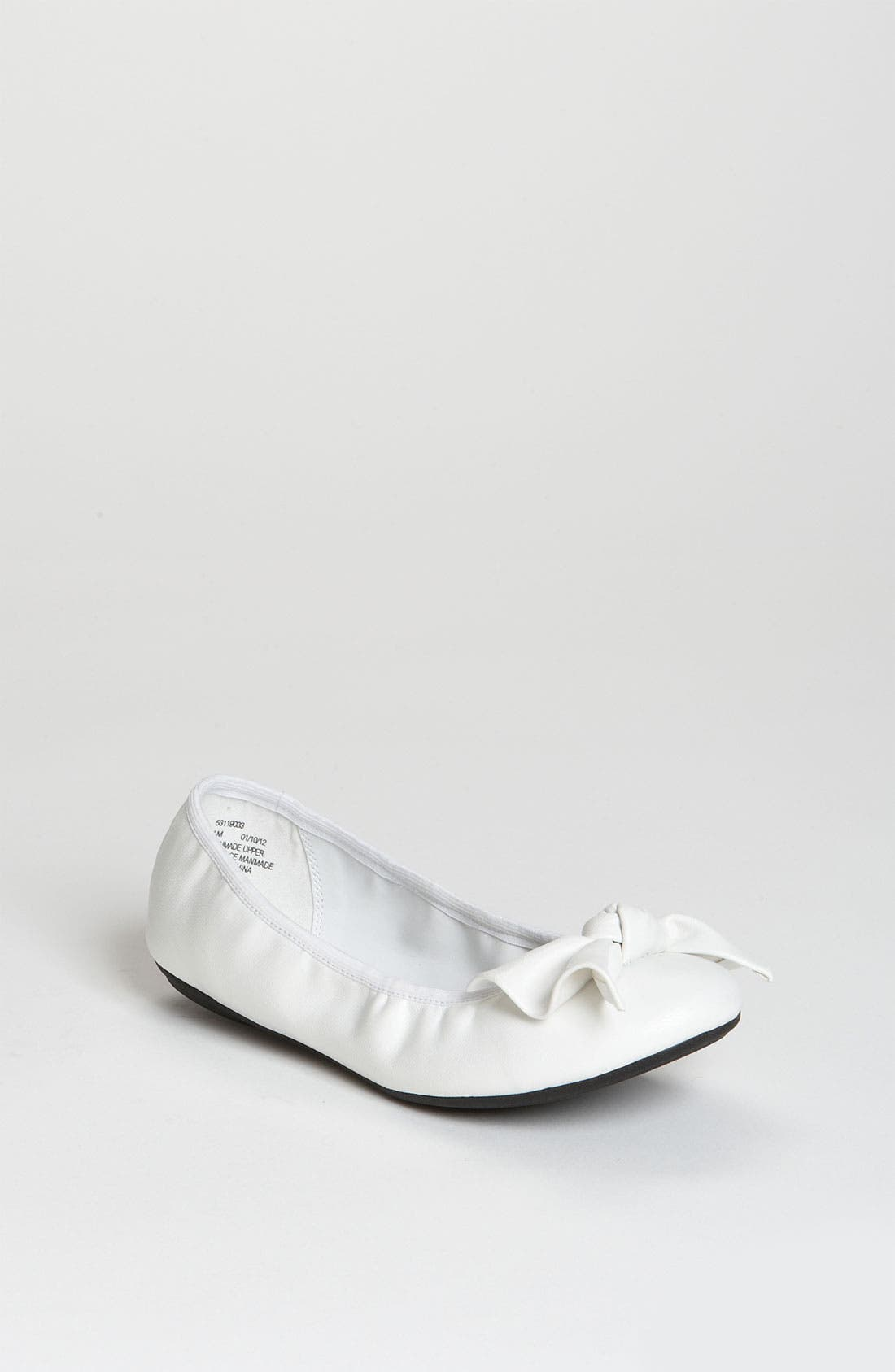 Alternate Image 1 Selected - Nordstrom 'Alysha' Flat (Walker, Toddler, Little Kid & Big Kid)