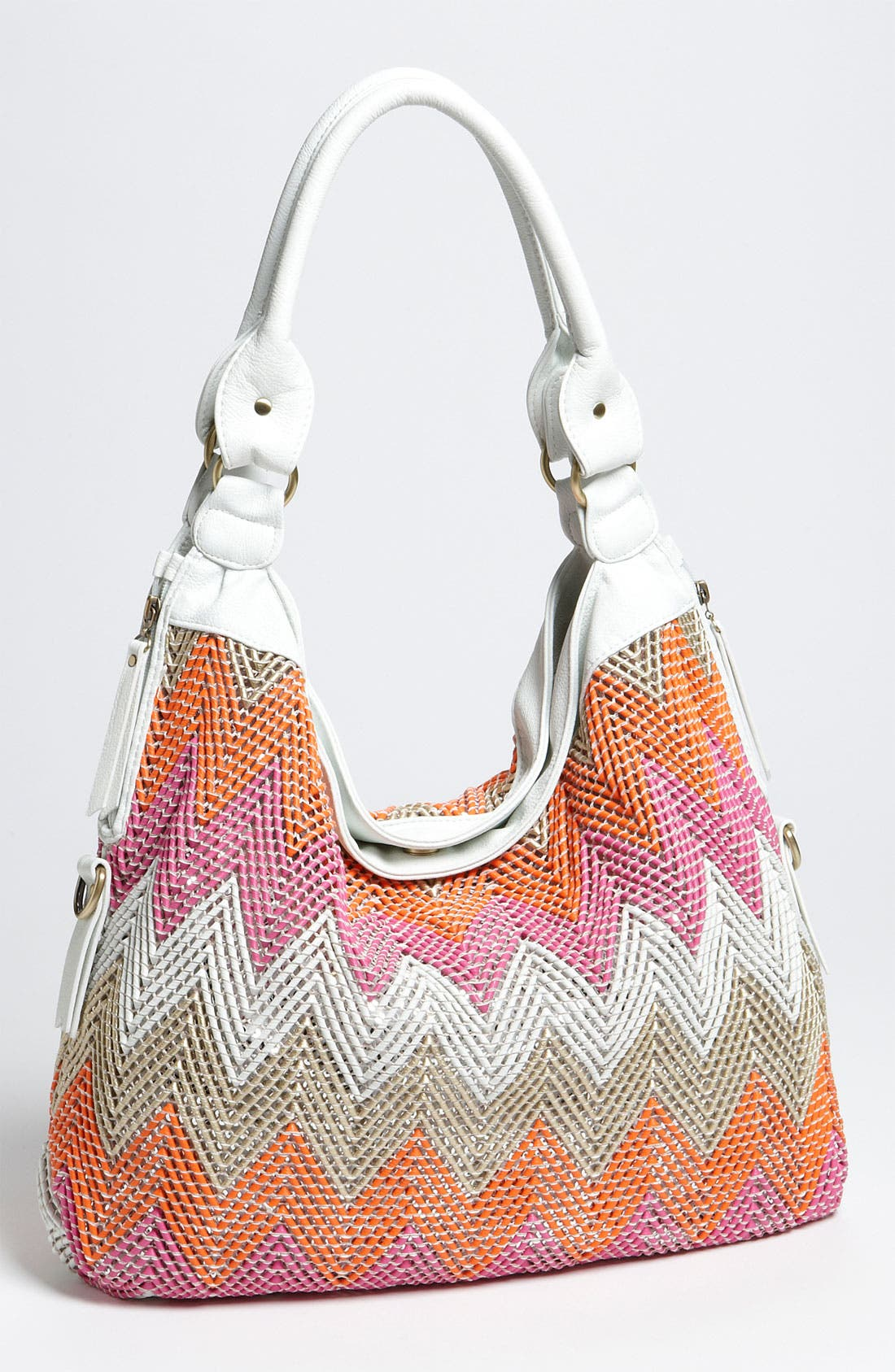 Main Image - Big Buddha Faux Leather Hobo