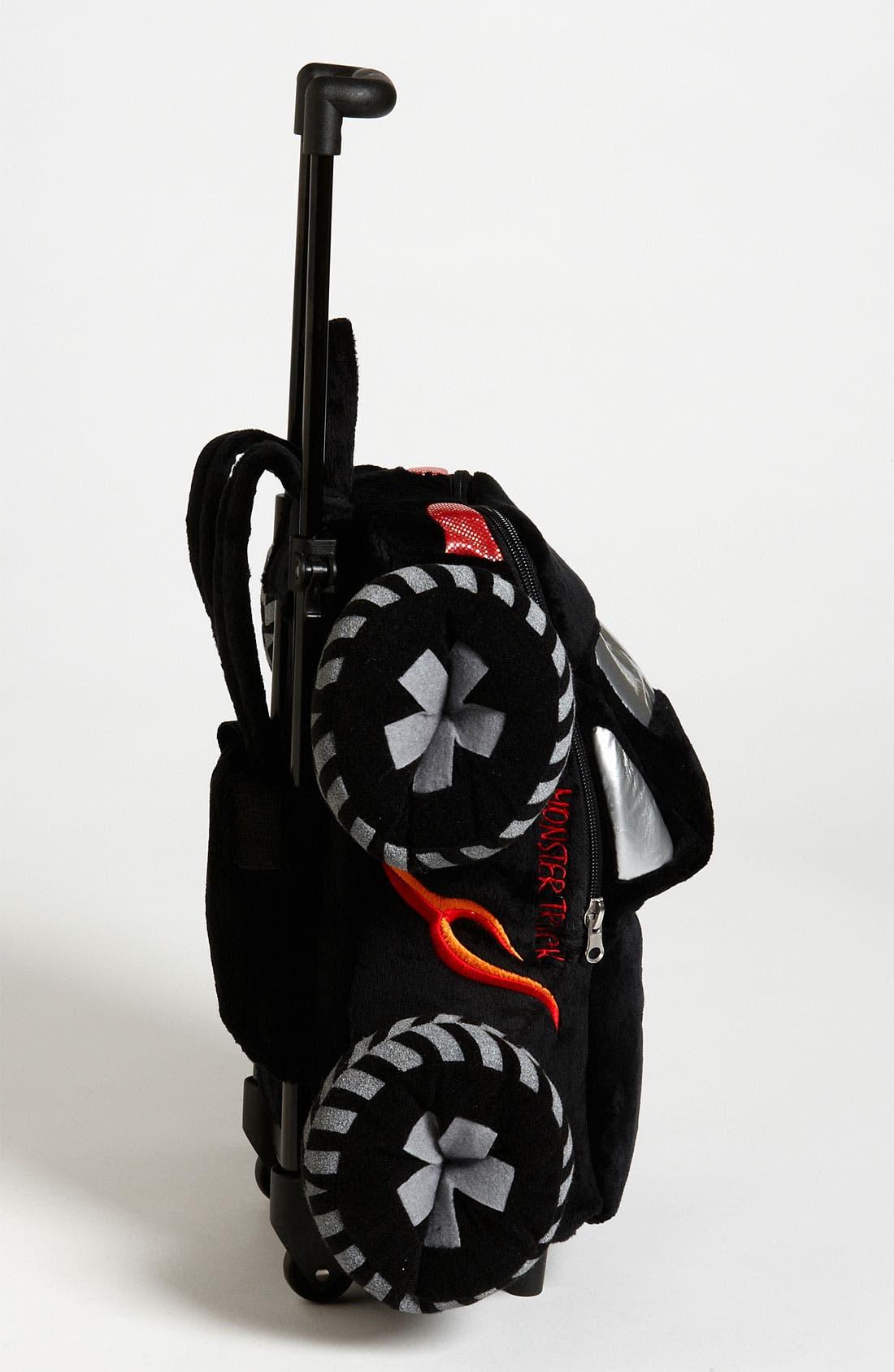 Alternate Image 2  - Popatu 'Monster Truck' Rolling Backpack (Toddler)