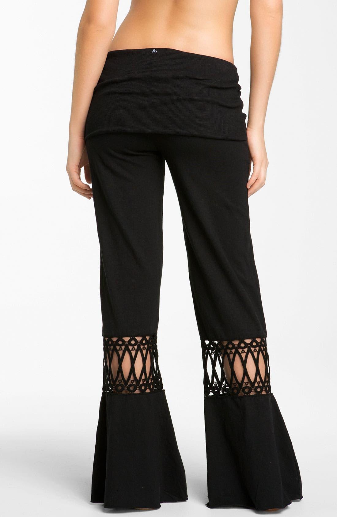 Alternate Image 2  - prAna 'Malibu' Crochet Detail Knit Pants