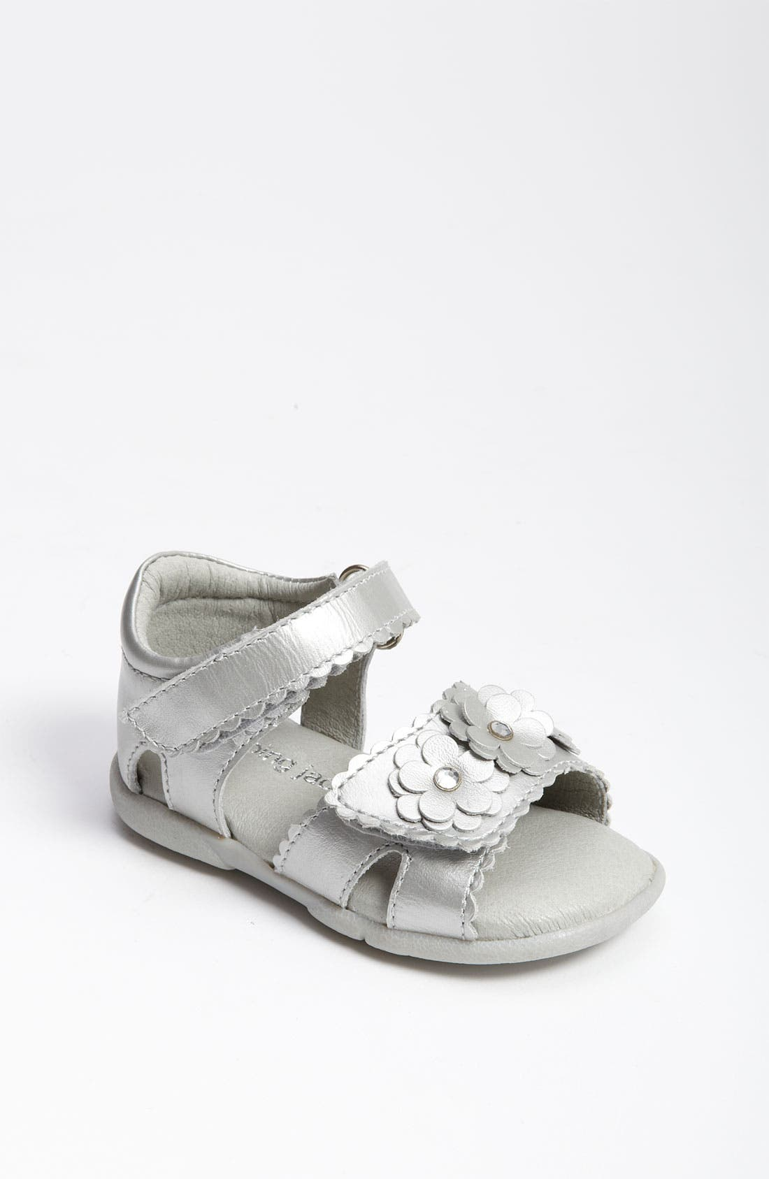 Alternate Image 1 Selected - Jumping Jacks 'Whisper' Sandal (Baby, Walker & Toddler)