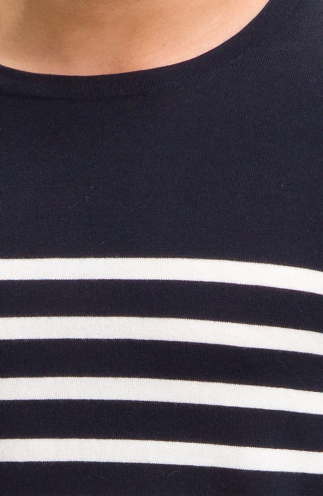 Alternate Image 3  - rag & bone 'Basque' Crewneck Sweater