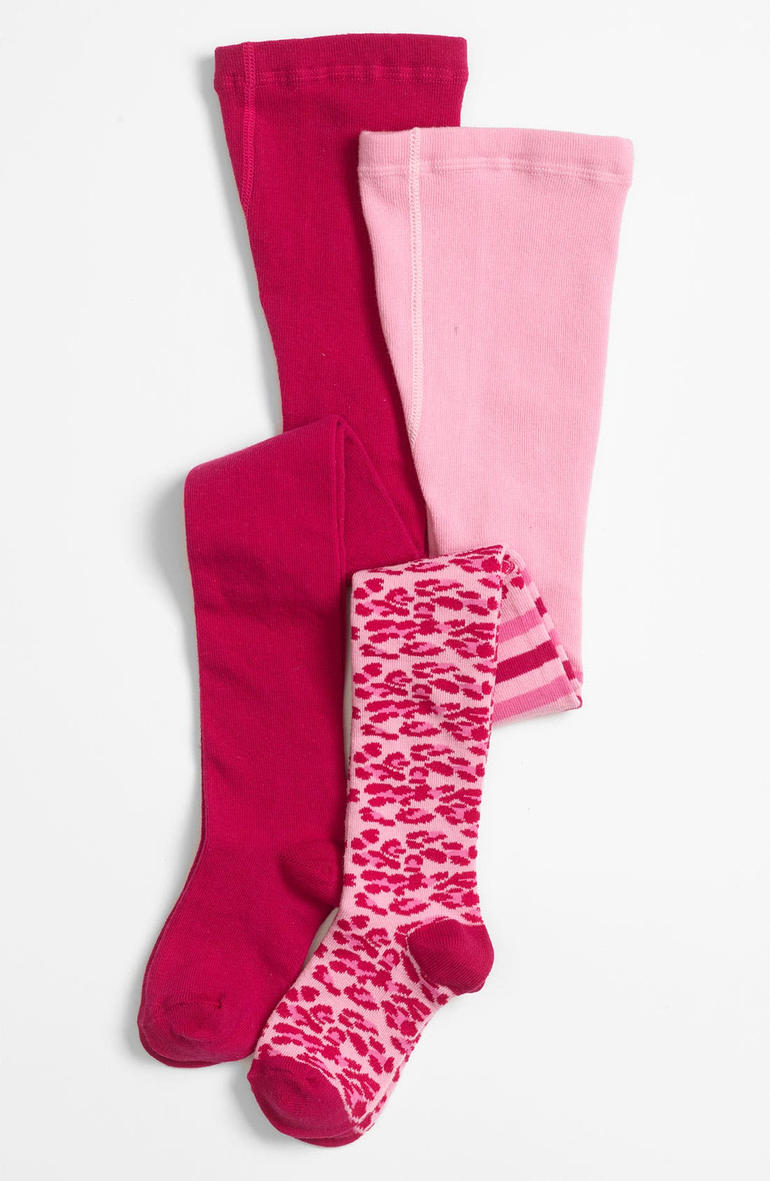 Alternate Image 1 Selected - Nordstrom Tights (2-Pack) (Toddler & Little Girls)