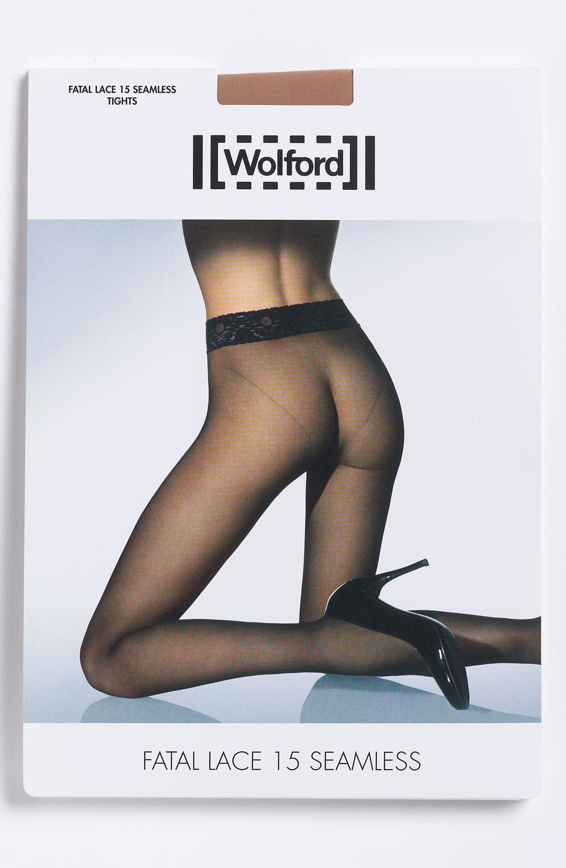 Alternate Image 3  - Wolford 'Fatal Lace 15' Seamless Stockings