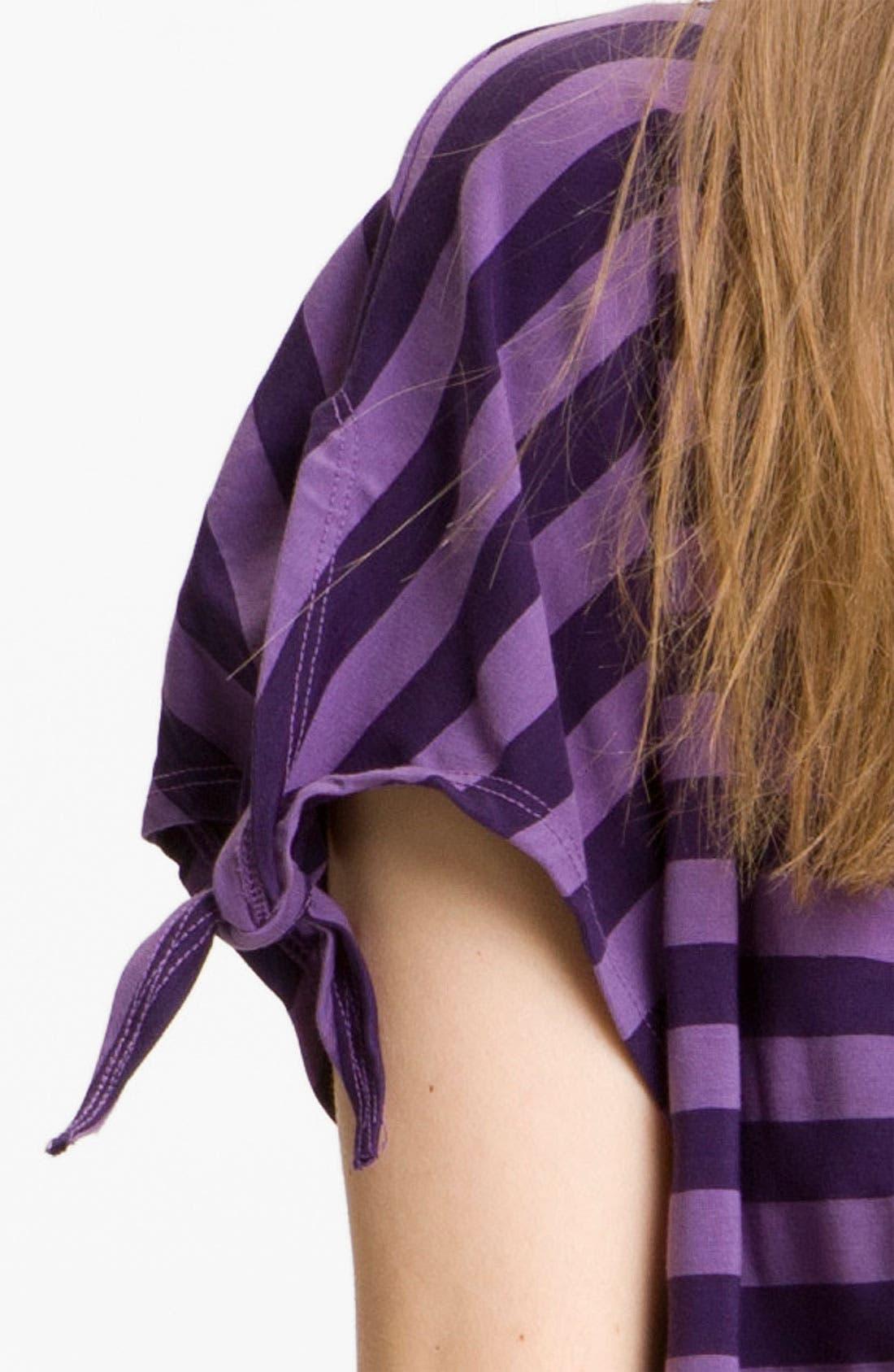 Alternate Image 3  - Ella Moss 'Waldo' Stripe Blouson Top
