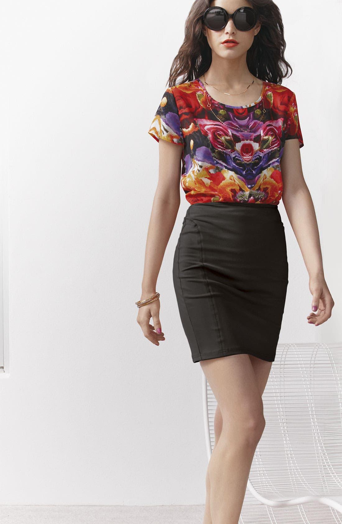 Alternate Image 5  - Trouvé Miniskirt