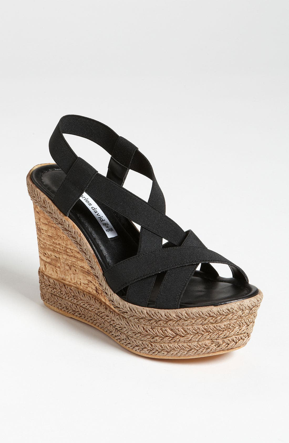 Alternate Image 1 Selected - Charles David 'Fare' Espadrille Wedge