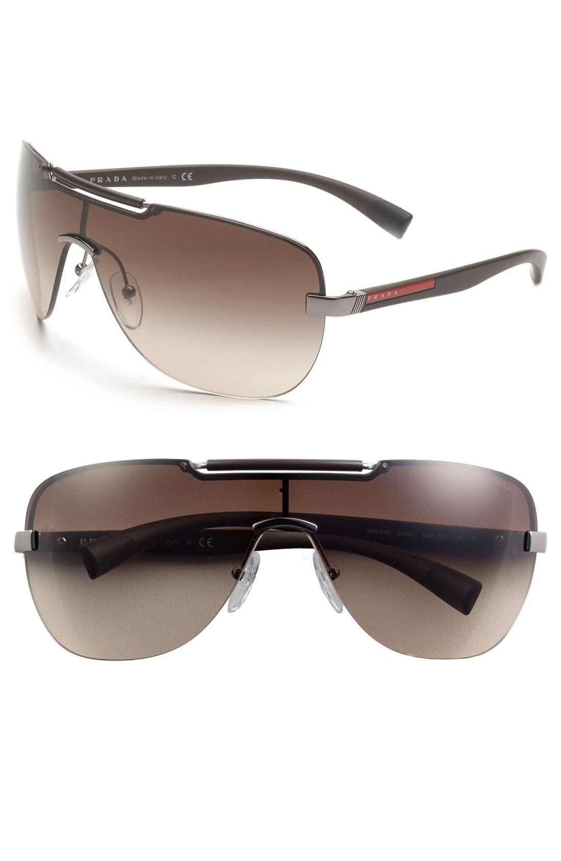 Alternate Image 1 Selected - Prada Shield Sunglasses