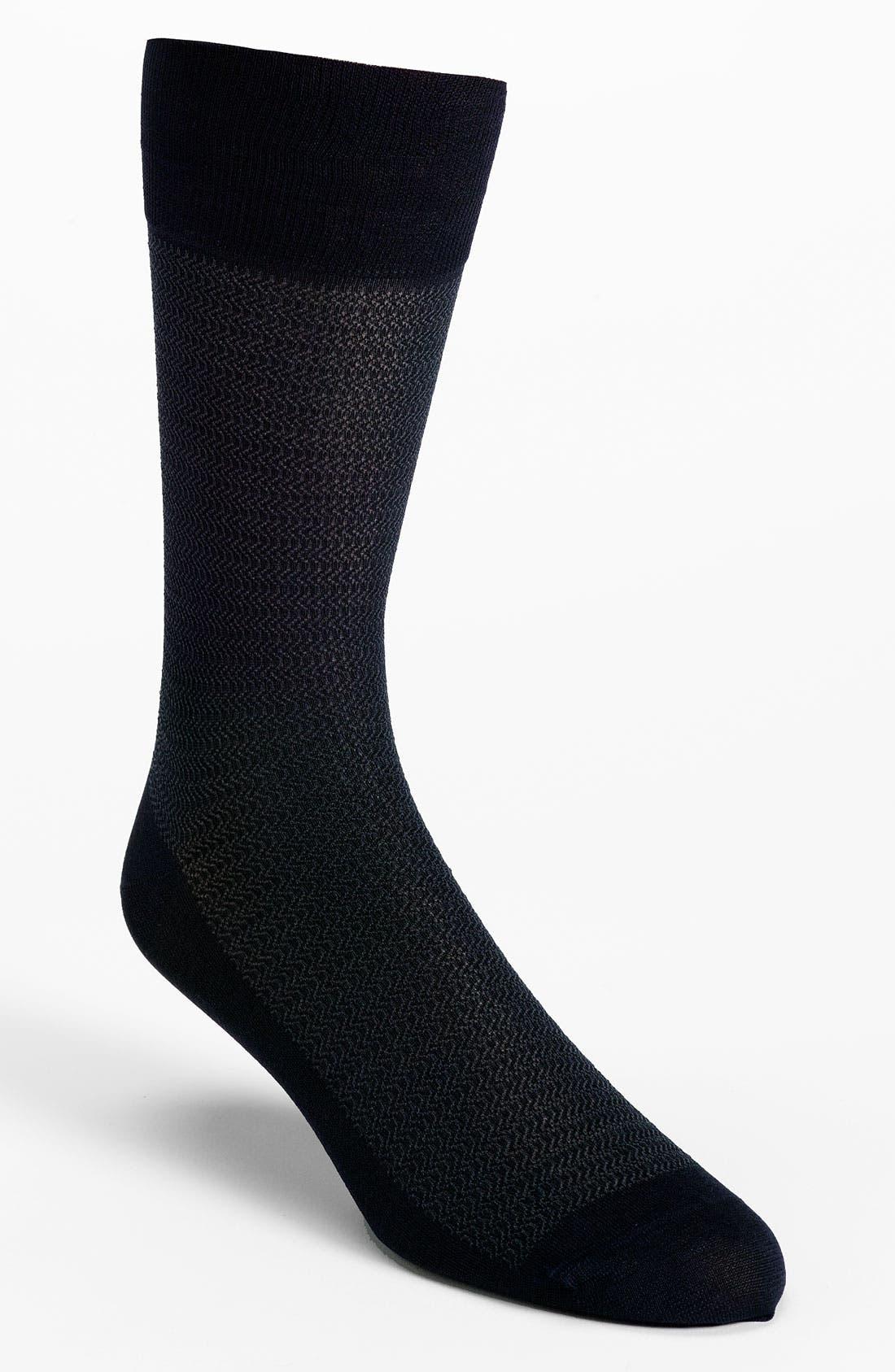 Alternate Image 1 Selected - John W. Nordstrom® 'Wave' Socks