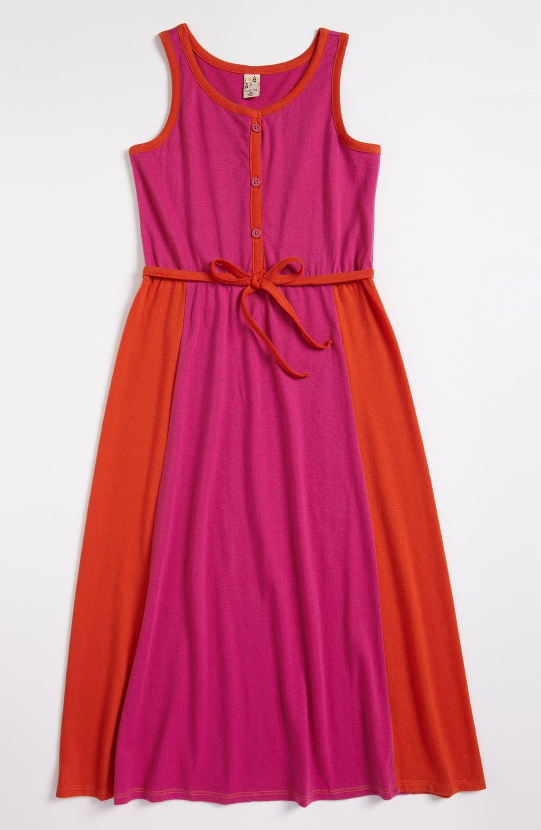 Main Image - Sweet Ivy 'Alexis' Maxi Dress (Little Girls)