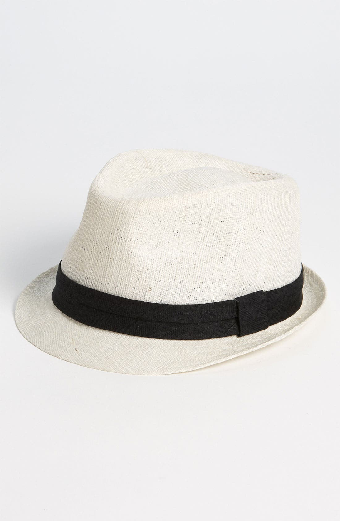 Main Image - Free Authority 'Ramie' Straw Fedora