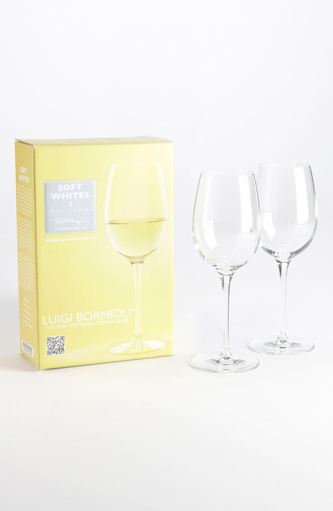 Main Image - Luigi Bormioli 'Wine Profiles Soft Whites' Wine Glasses (Set of 2)