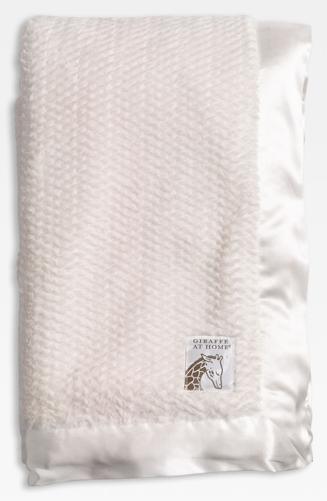 Alternate Image 1 Selected - Giraffe at Home 'Luxe Twist' Throw