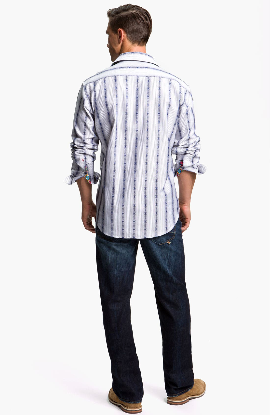 Alternate Image 5  - Robert Graham Jeans 'Yates' Classic Fit Jeans (Atlantic)