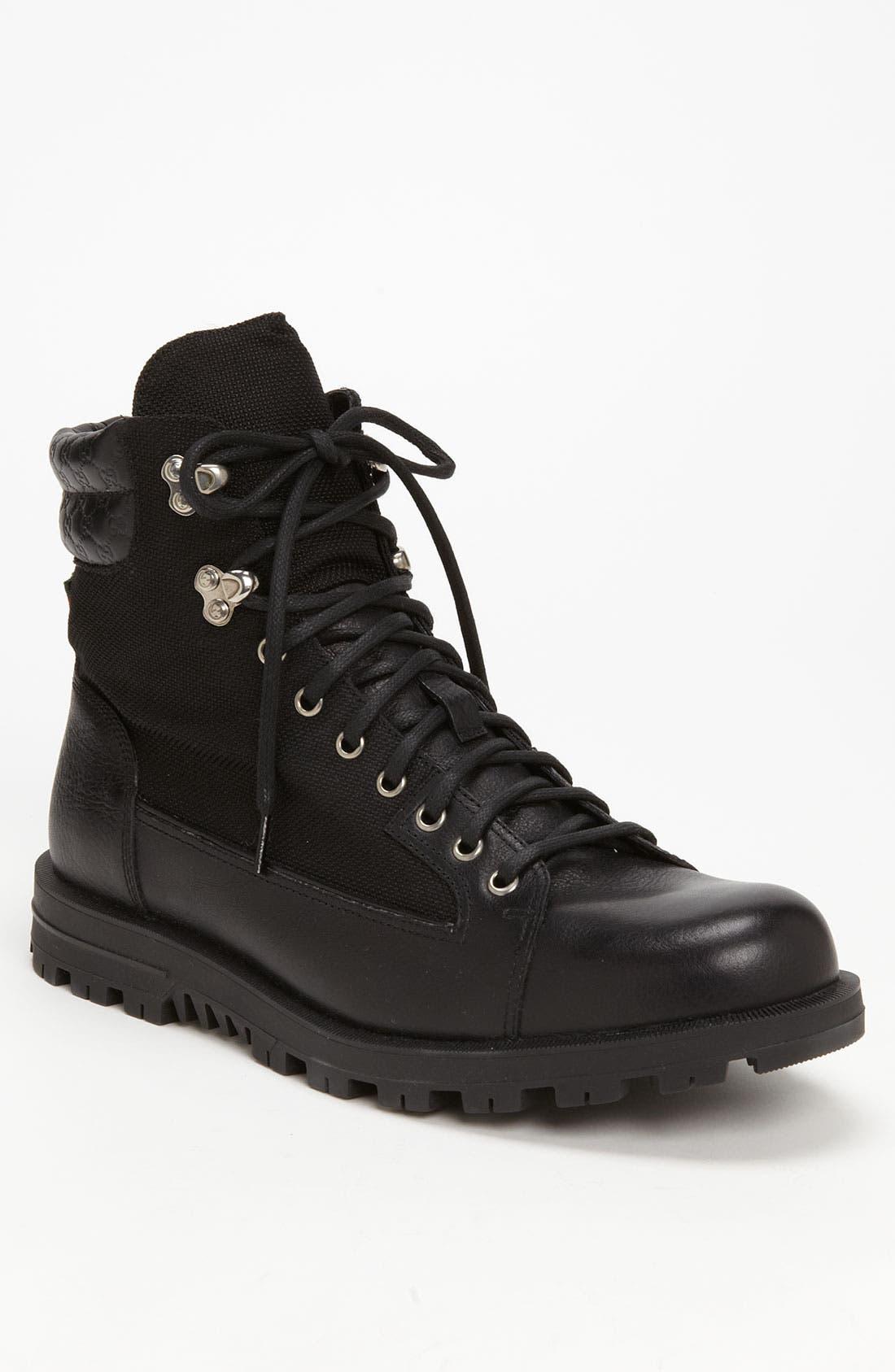 Alternate Image 1 Selected - Gucci 'Meguro' Combat Boot