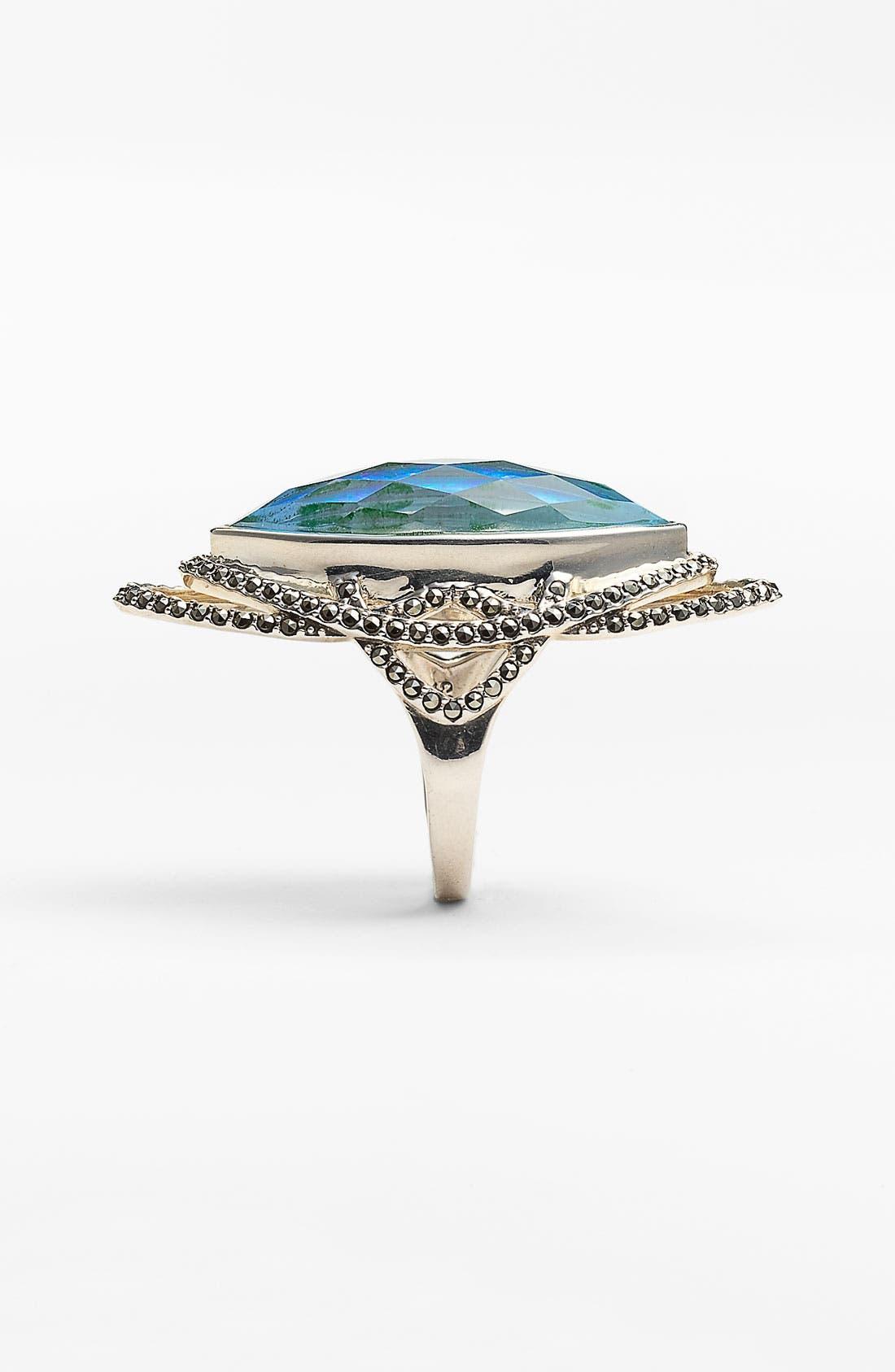 Alternate Image 2  - Judith Jack 'Lagoon' Gilson Opal Ring