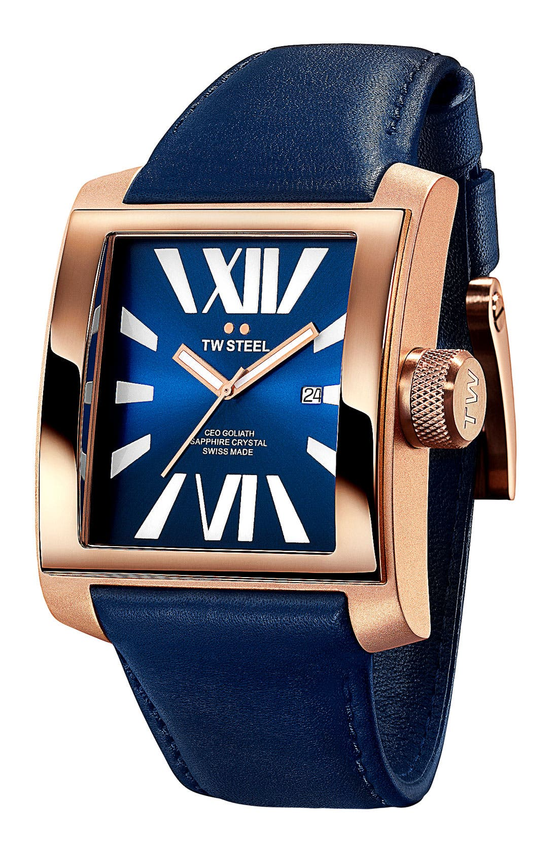 Main Image - TW Steel 'CEO Goliath' Rose Gold Watch