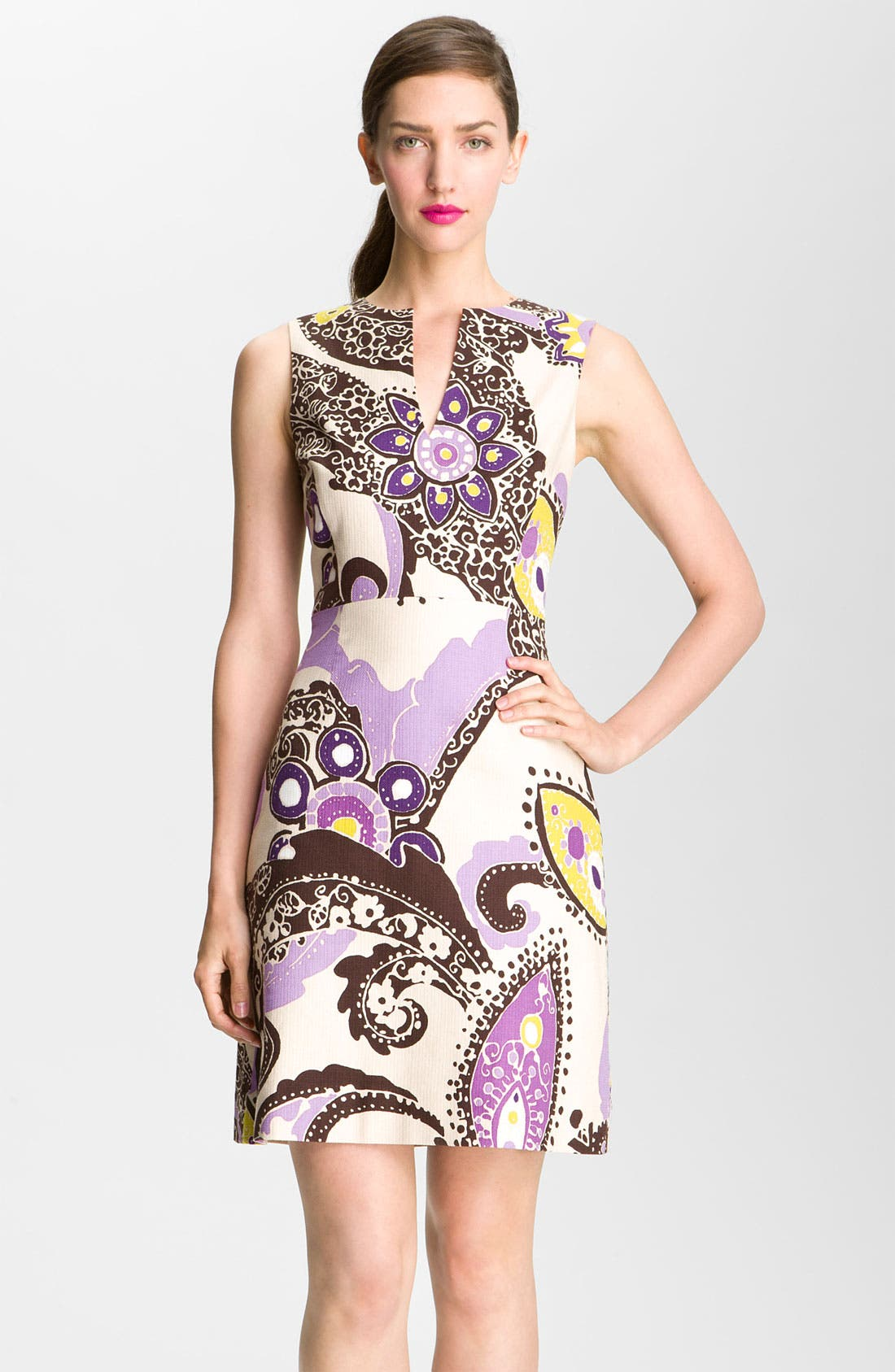 Main Image - kate spade new york 'kerian' print sheath dress