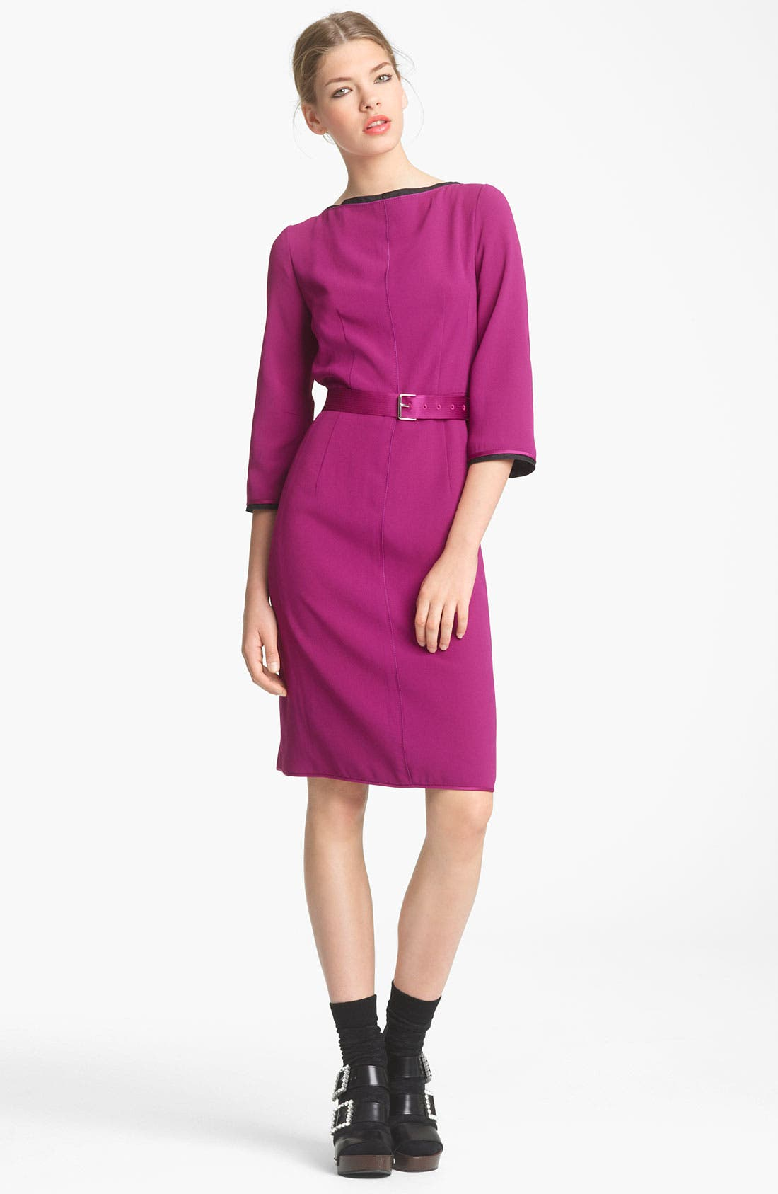 Main Image - MARC JACOBS Belted Pencil Dress