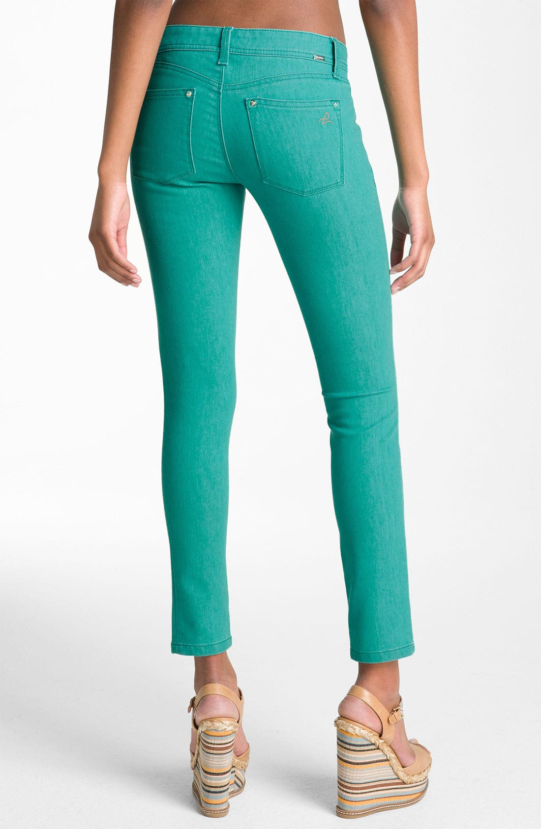 Alternate Image 2  - DL1961 'Emma' Skinny Jeans (Seaglass)
