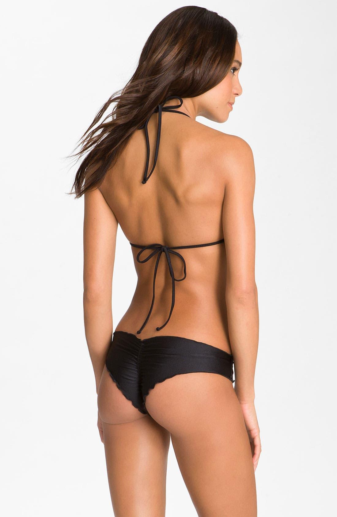 Alternate Image 4  - Luli Fama 'Wavy' Brazilian Bikini Bottoms