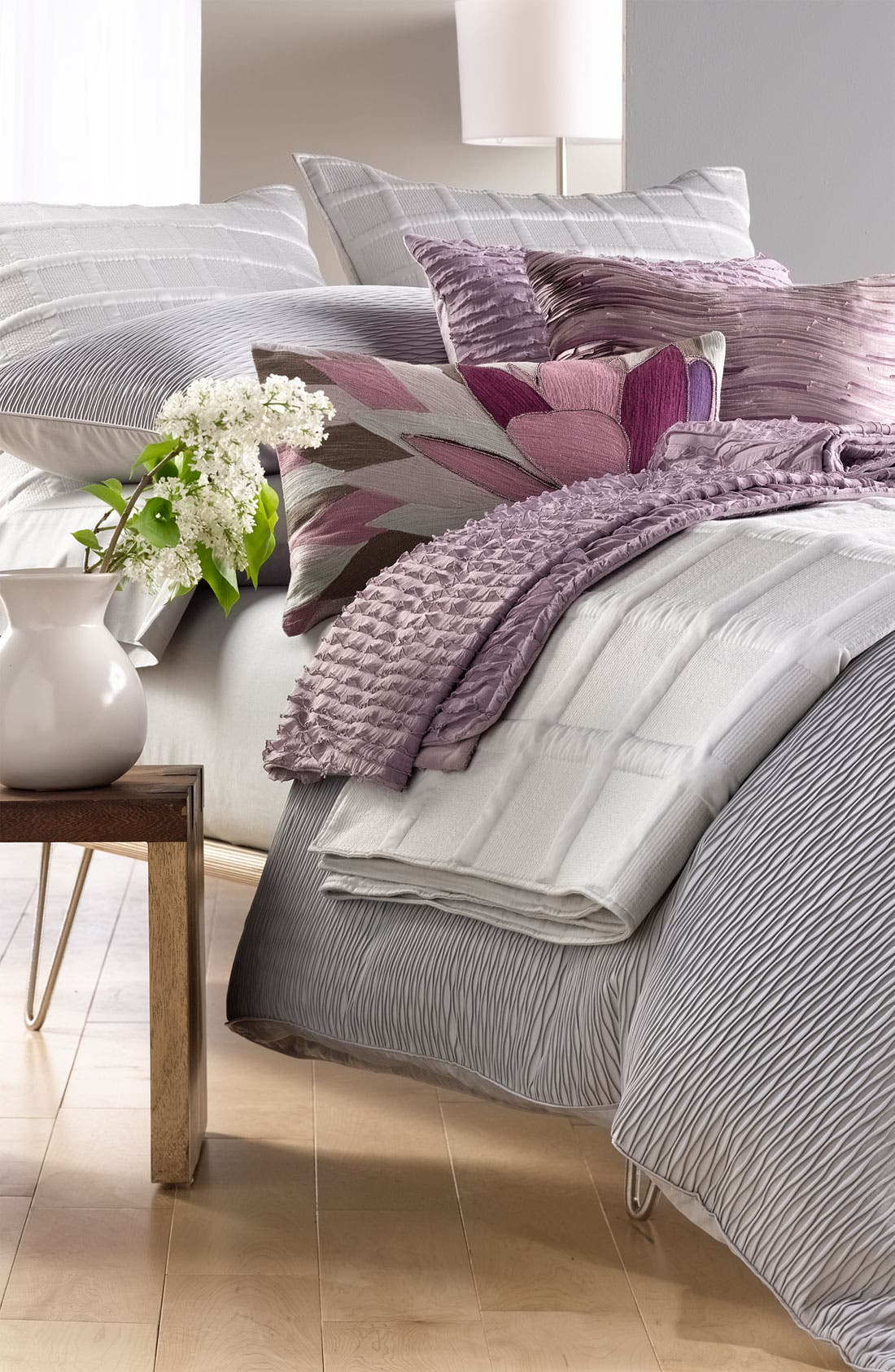 Alternate Image 2  - Nordstrom at Home 'Mushroom Pleat' Pillow