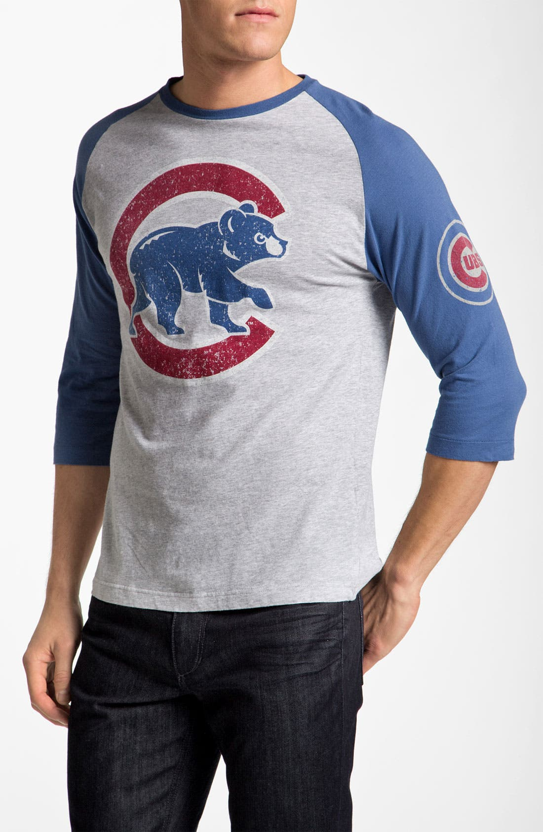 Alternate Image 1 Selected - Wright & Ditson 'Chicago Cubs' Baseball T-Shirt