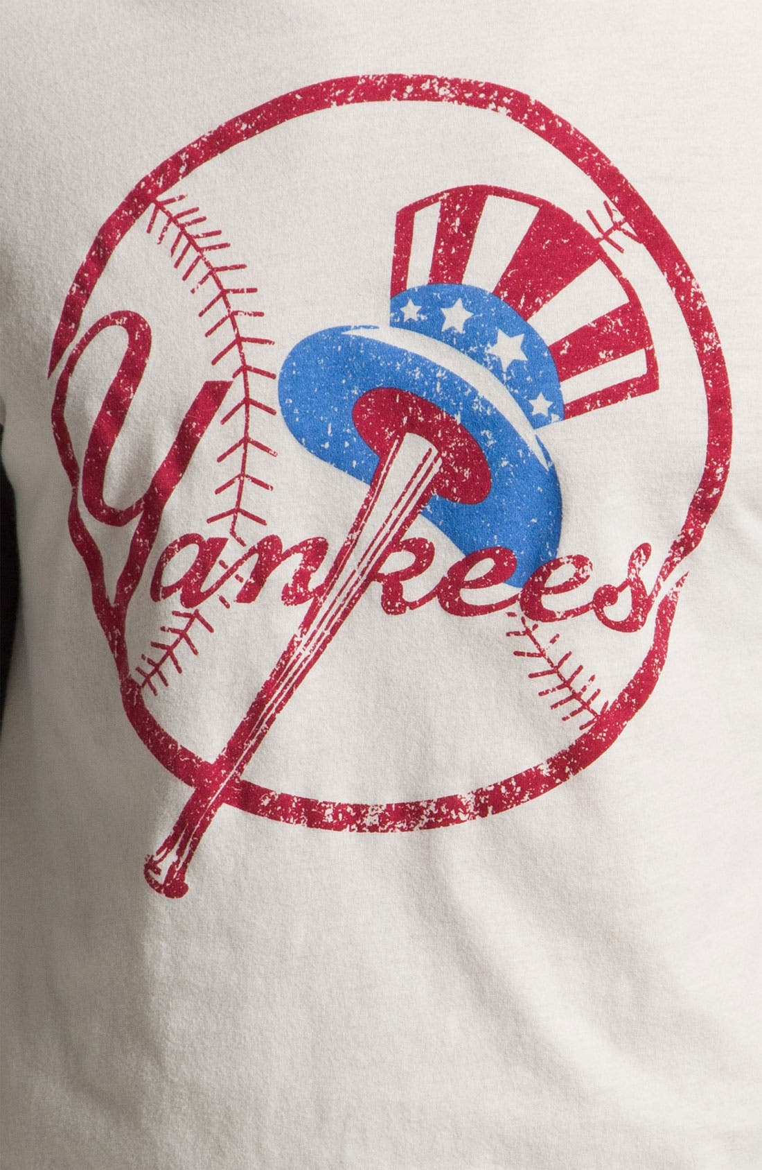Alternate Image 3  - Wright & Ditson 'New York Yankees' Baseball T-Shirt