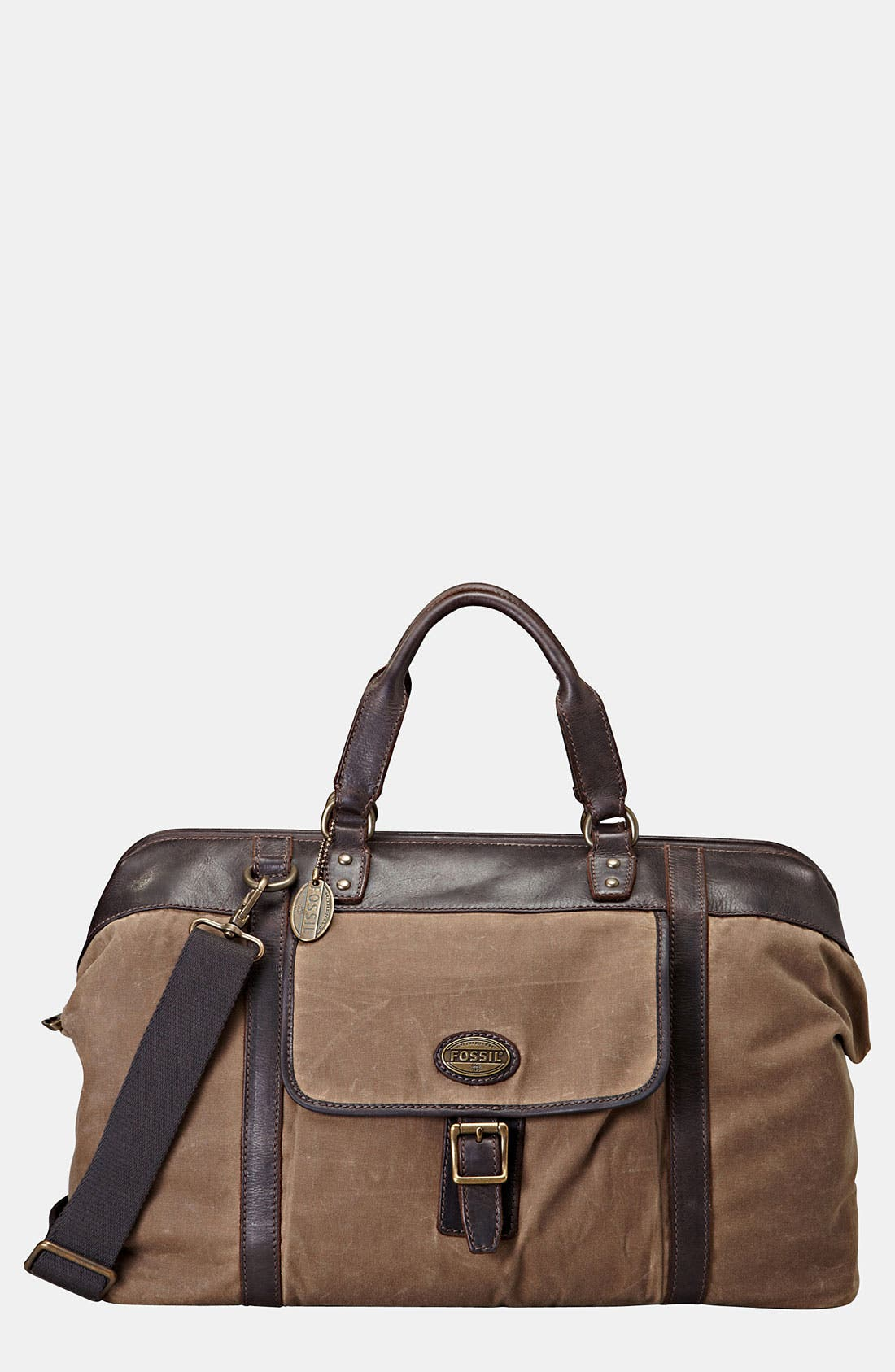 Main Image - Fossil 'Estate' Frame Duffel Bag