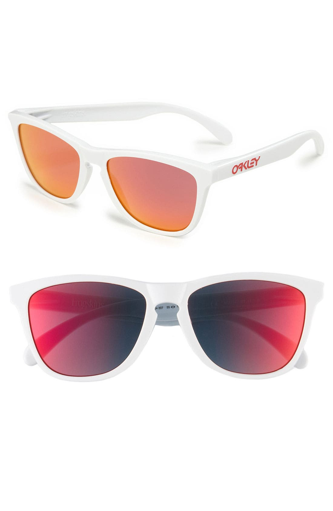 Alternate Image 1 Selected - Oakley 'Frogskins®' 55mm Sunglasses
