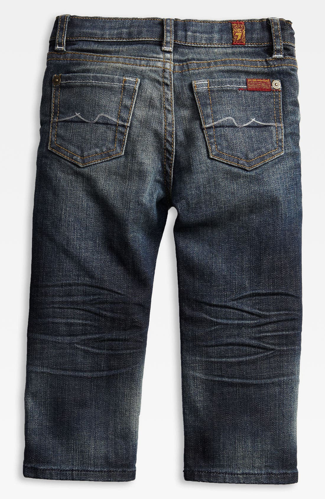 Alternate Image 1 Selected - 7 For All Mankind® 'Standard' Jeans (Toddler)