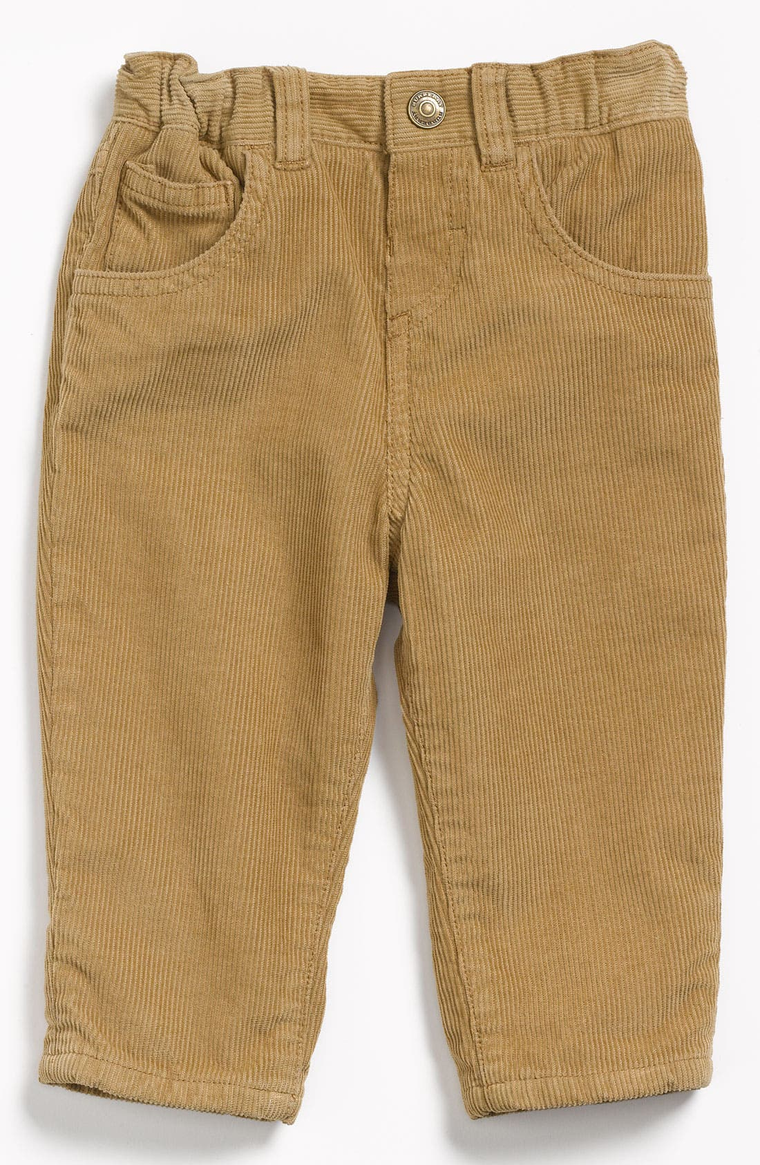 Alternate Image 2  - Burberry Corduroy Trousers (Toddler)