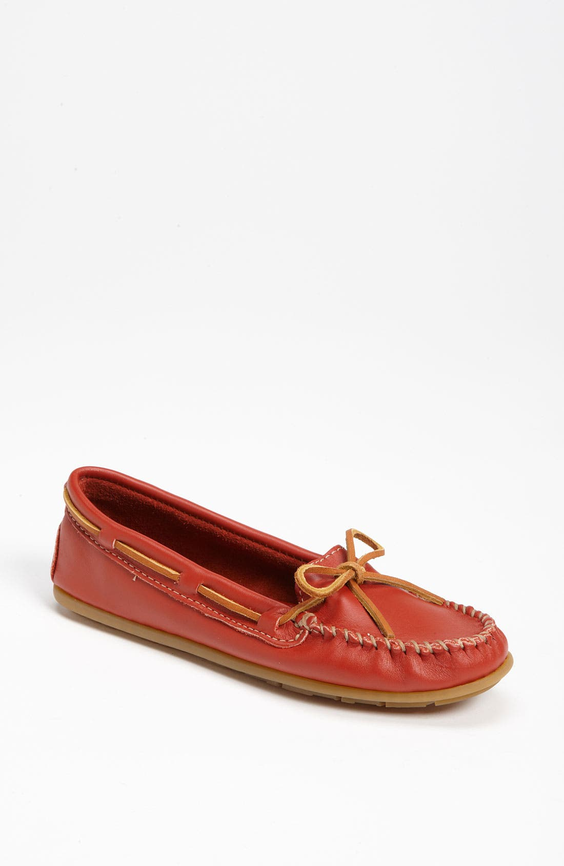Alternate Image 1 Selected - Minnetonka Smooth Moccasin (Online Only)