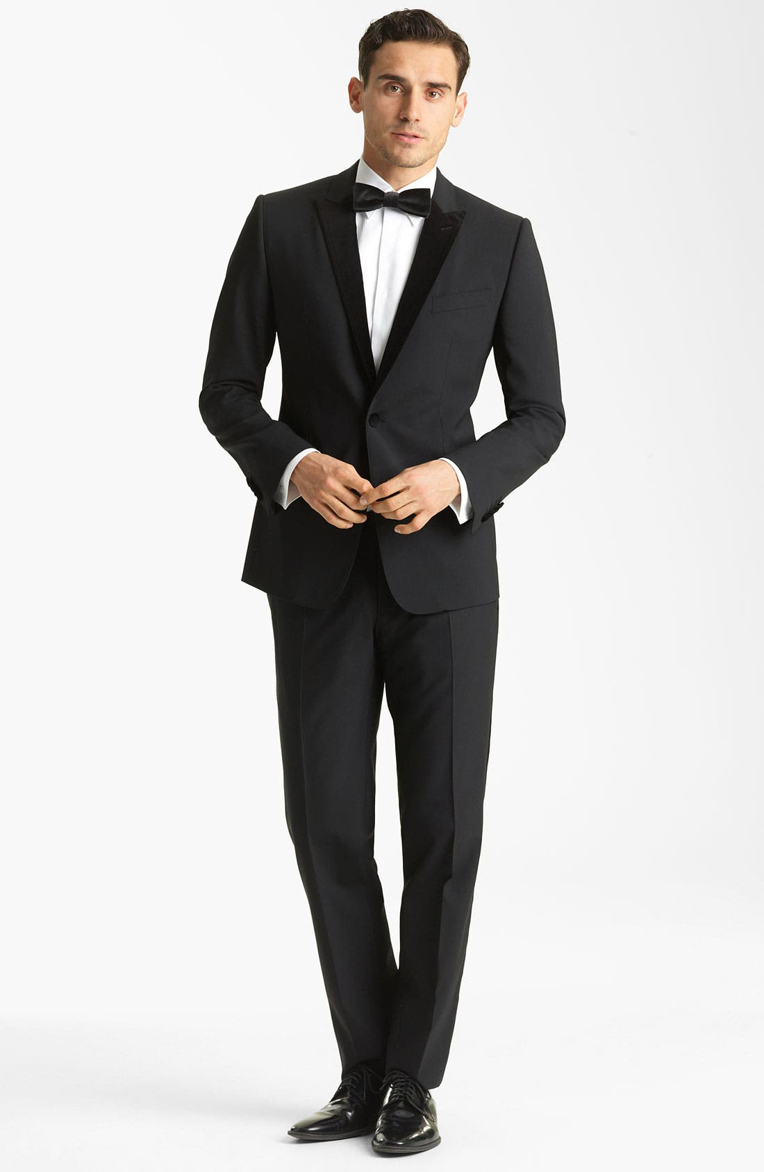 Alternate Image 2  - Dolce&Gabbana Velvet Trimmed Designer Tuxedo
