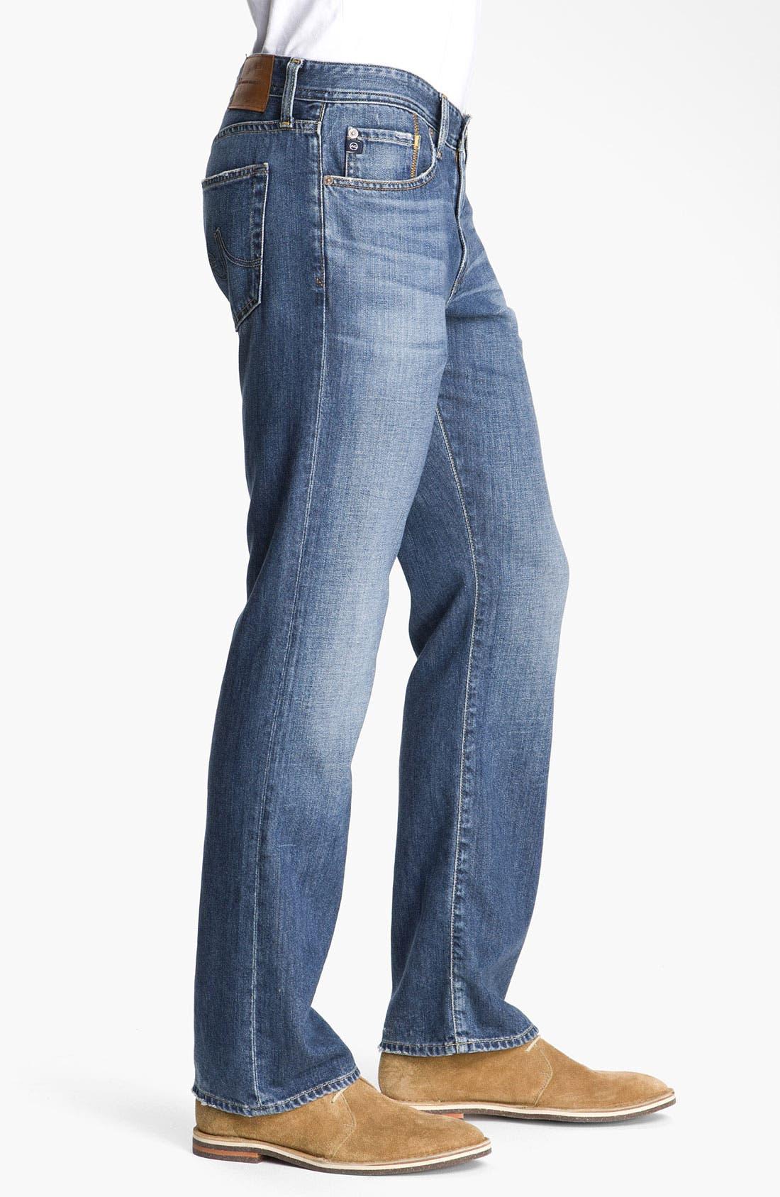Alternate Image 2  - AG 'Protégé' Straight Leg Jeans (Tate)