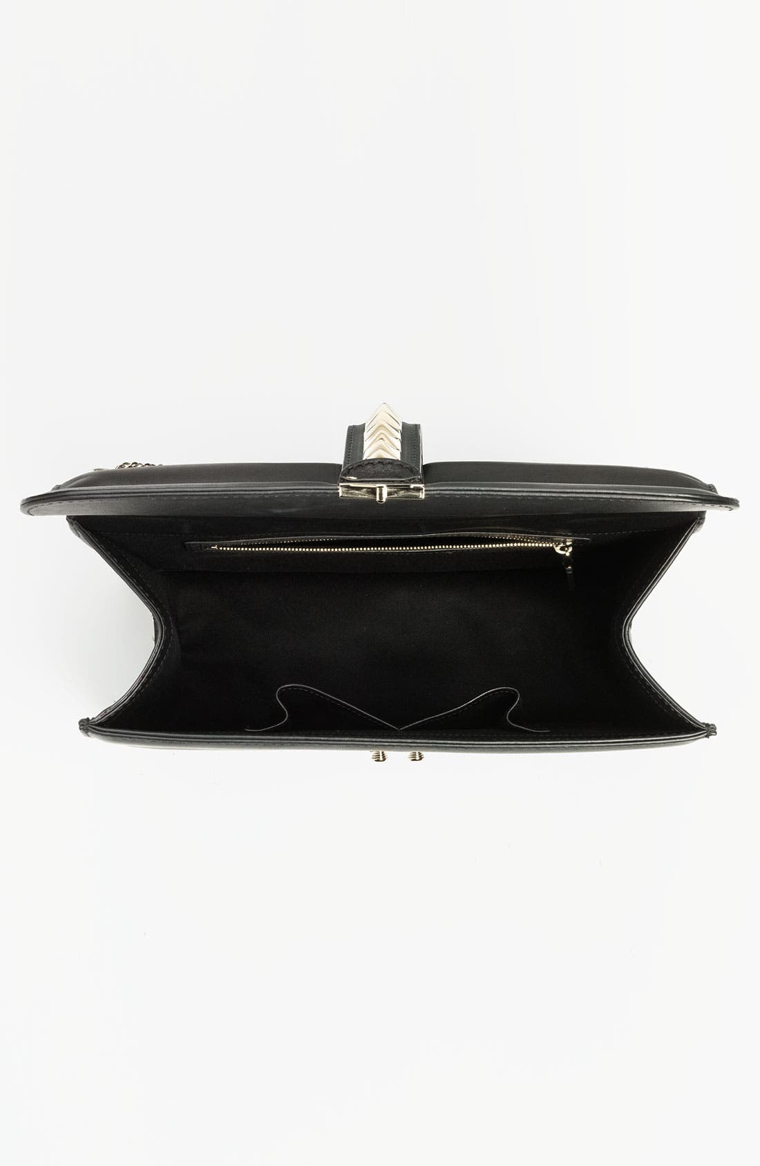 Alternate Image 3  - Valentino 'Grande Lock' Leather Shoulder Bag
