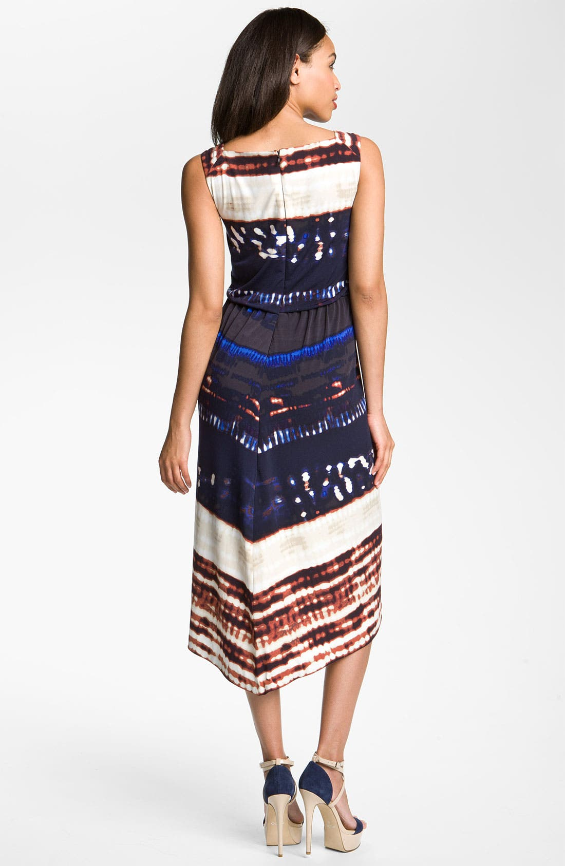 Alternate Image 2  - Suzi Chin for Maggy Boutique Front Knot Jersey Dress