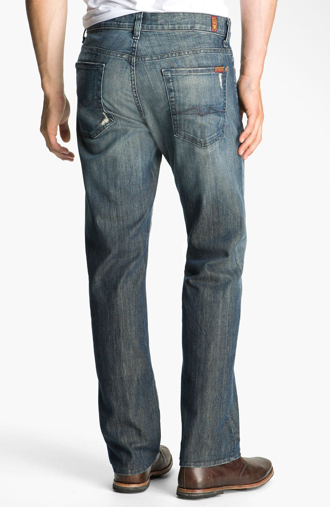 Alternate Image 1 Selected - 7 For All Mankind® 'Austyn' Relaxed Fit Jeans (Melbourne)