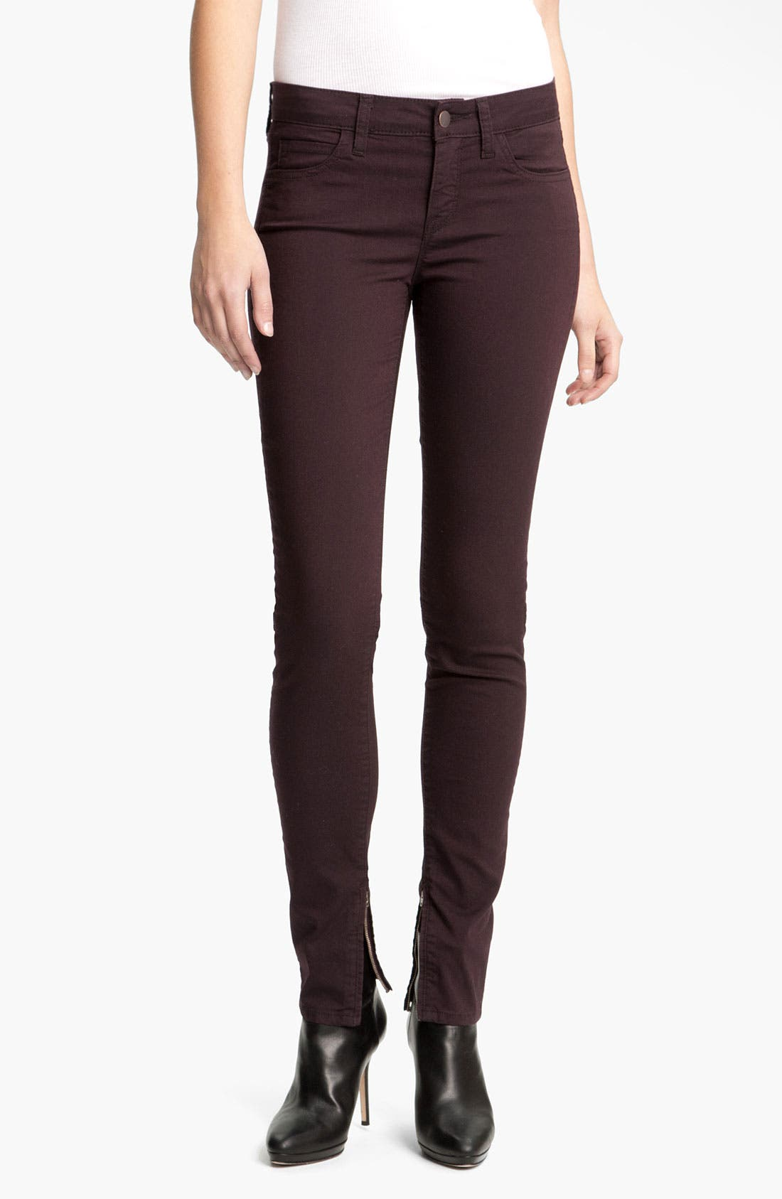 Alternate Image 1 Selected - Vince Zip Ankle Skinny Pants