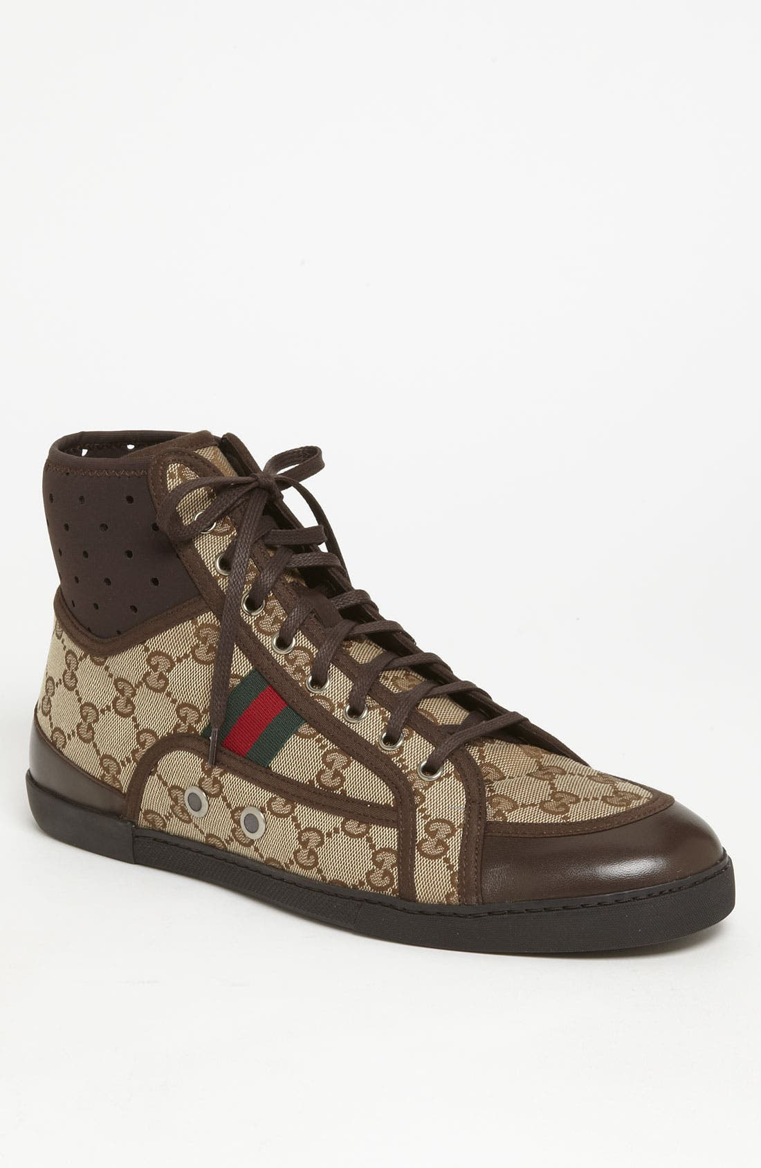 Alternate Image 1 Selected - Gucci 'Cannes' High Top Sneaker